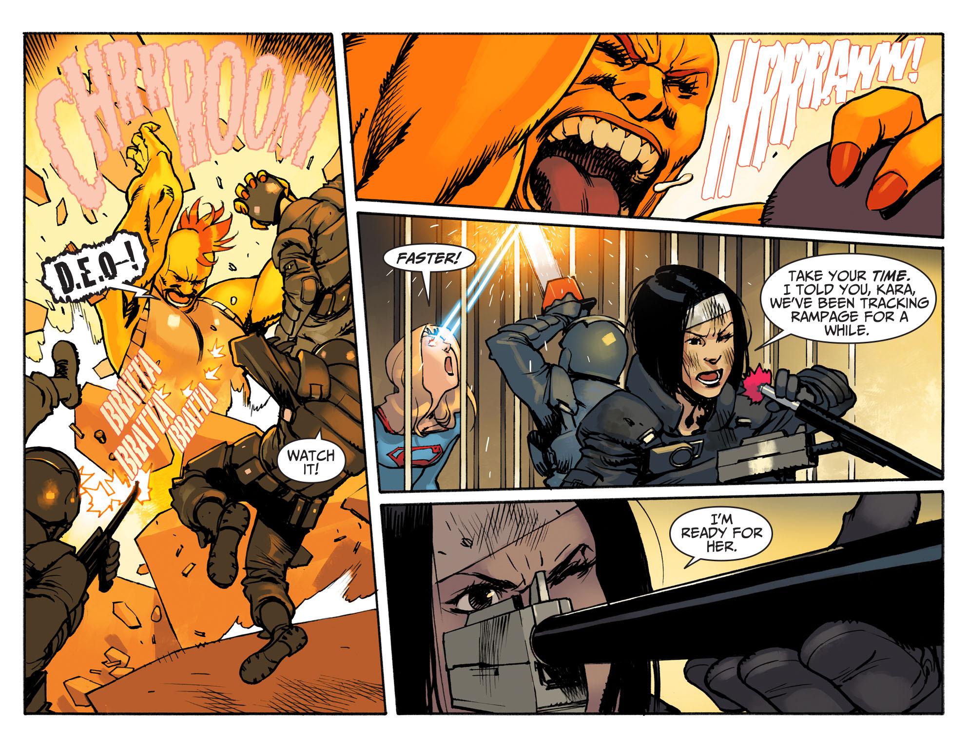 Read online Adventures of Supergirl comic -  Issue #3 - 17