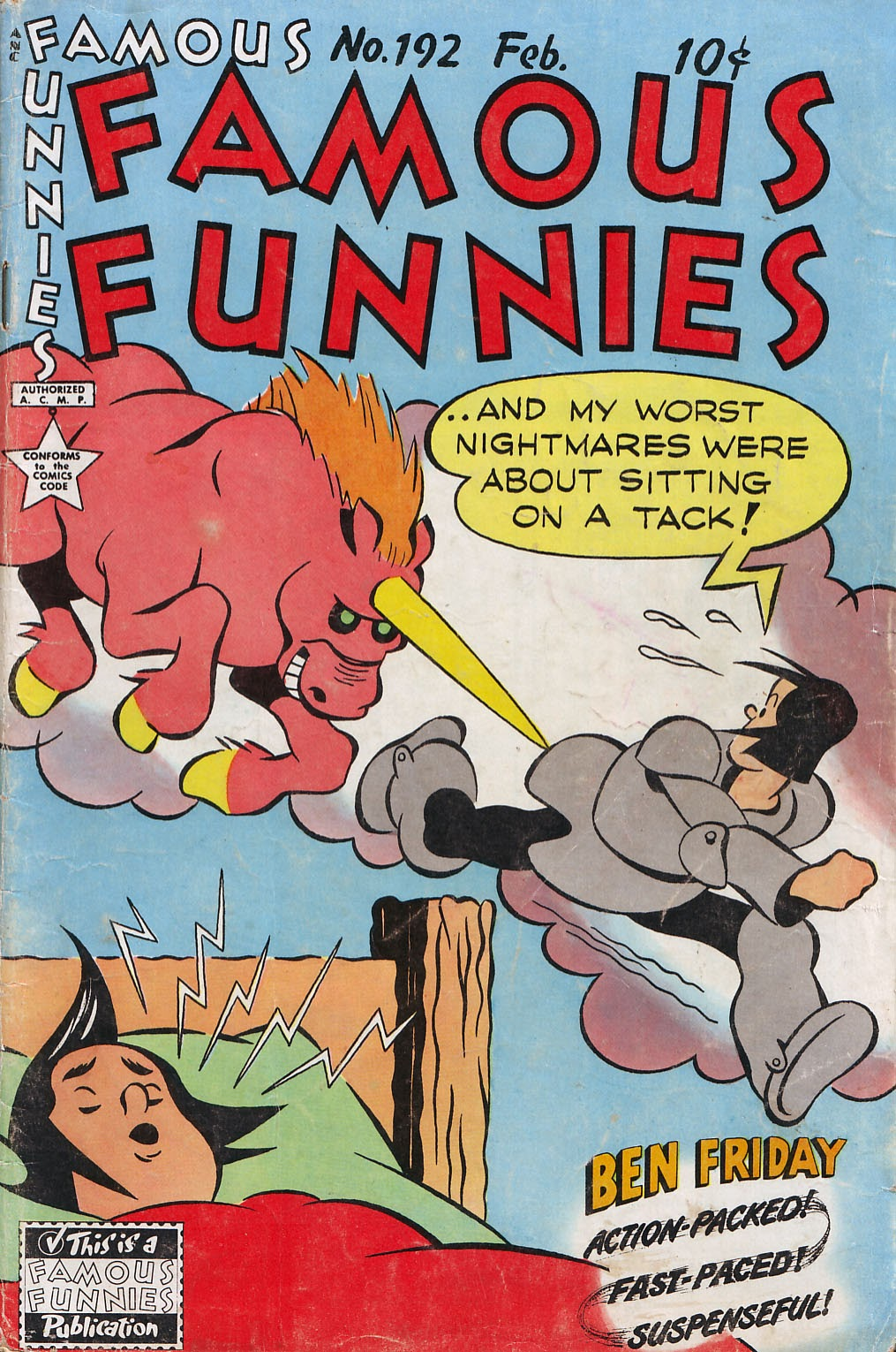 Read online Famous Funnies comic -  Issue #192 - 1
