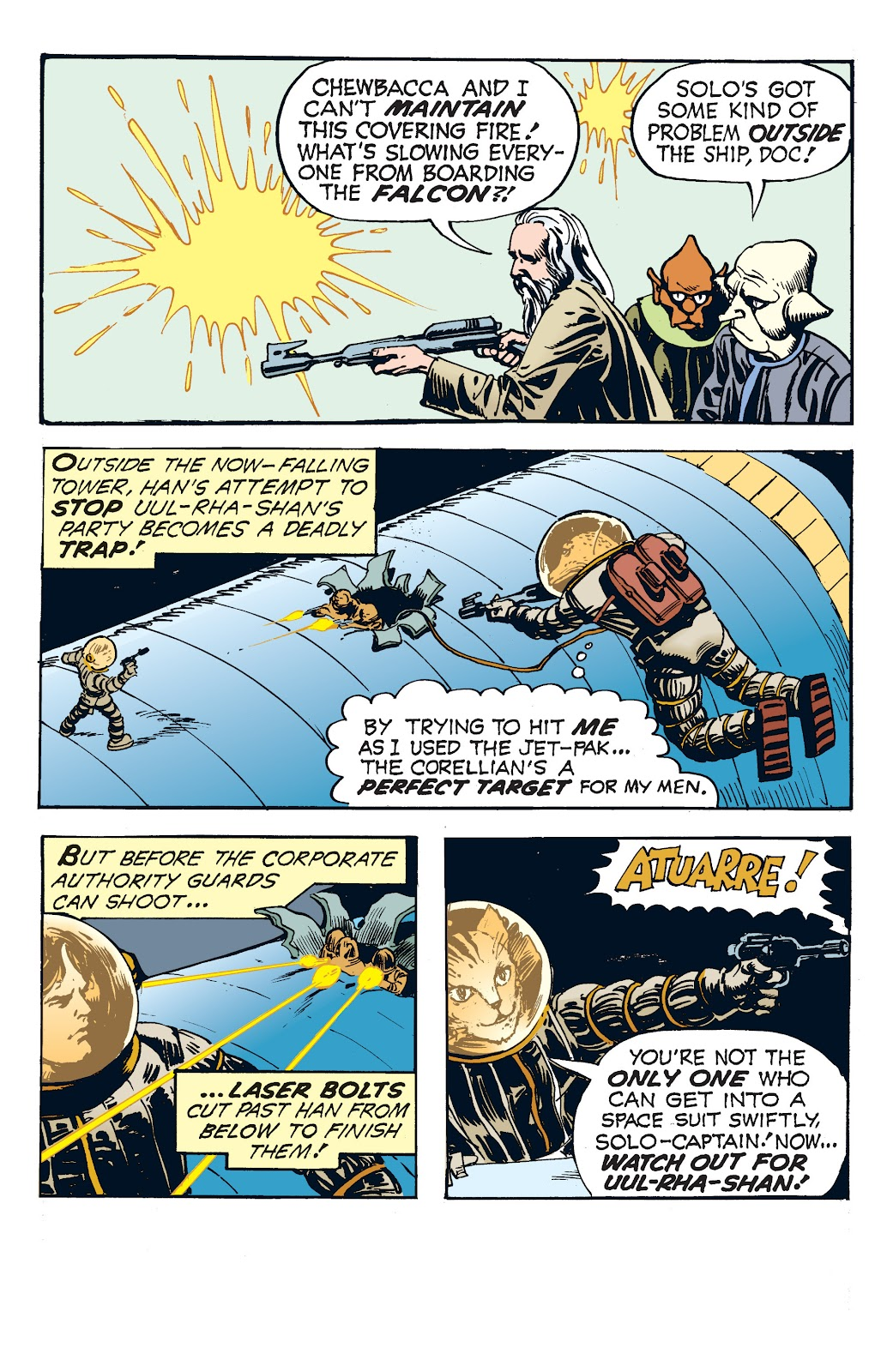 Read online Star Wars Legends: The Newspaper Strips - Epic Collection comic -  Issue # TPB (Part 4) - 75