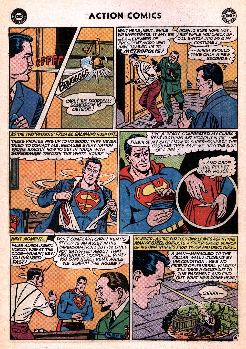 Read online Action Comics (1938) comic -  Issue #306 - 7