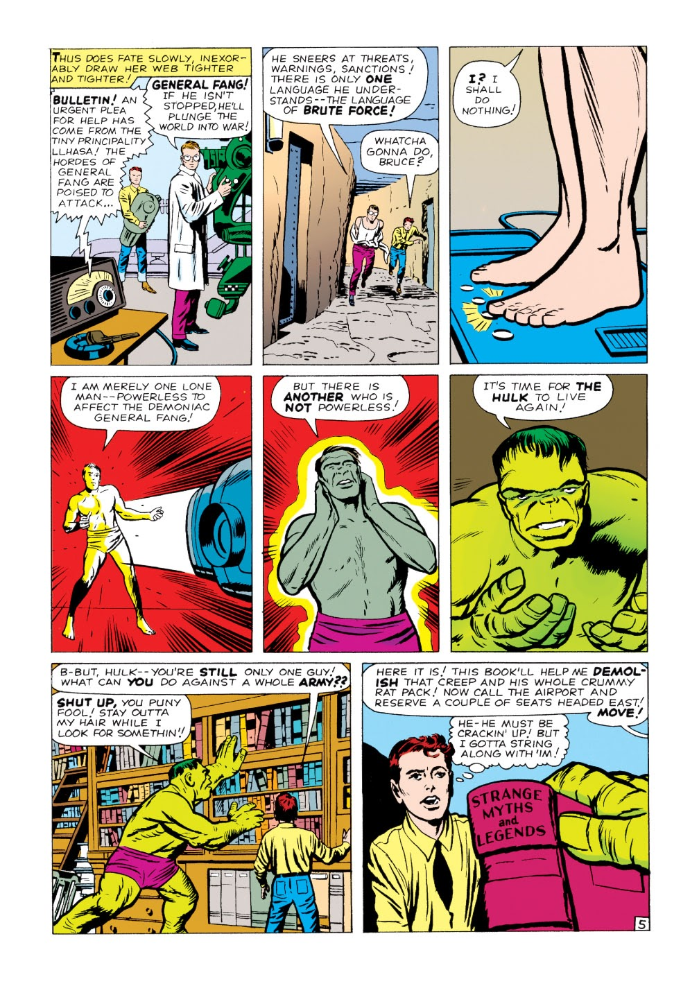 Read online Marvel Masterworks: The Incredible Hulk comic -  Issue # TPB 1 (Part 2) - 20