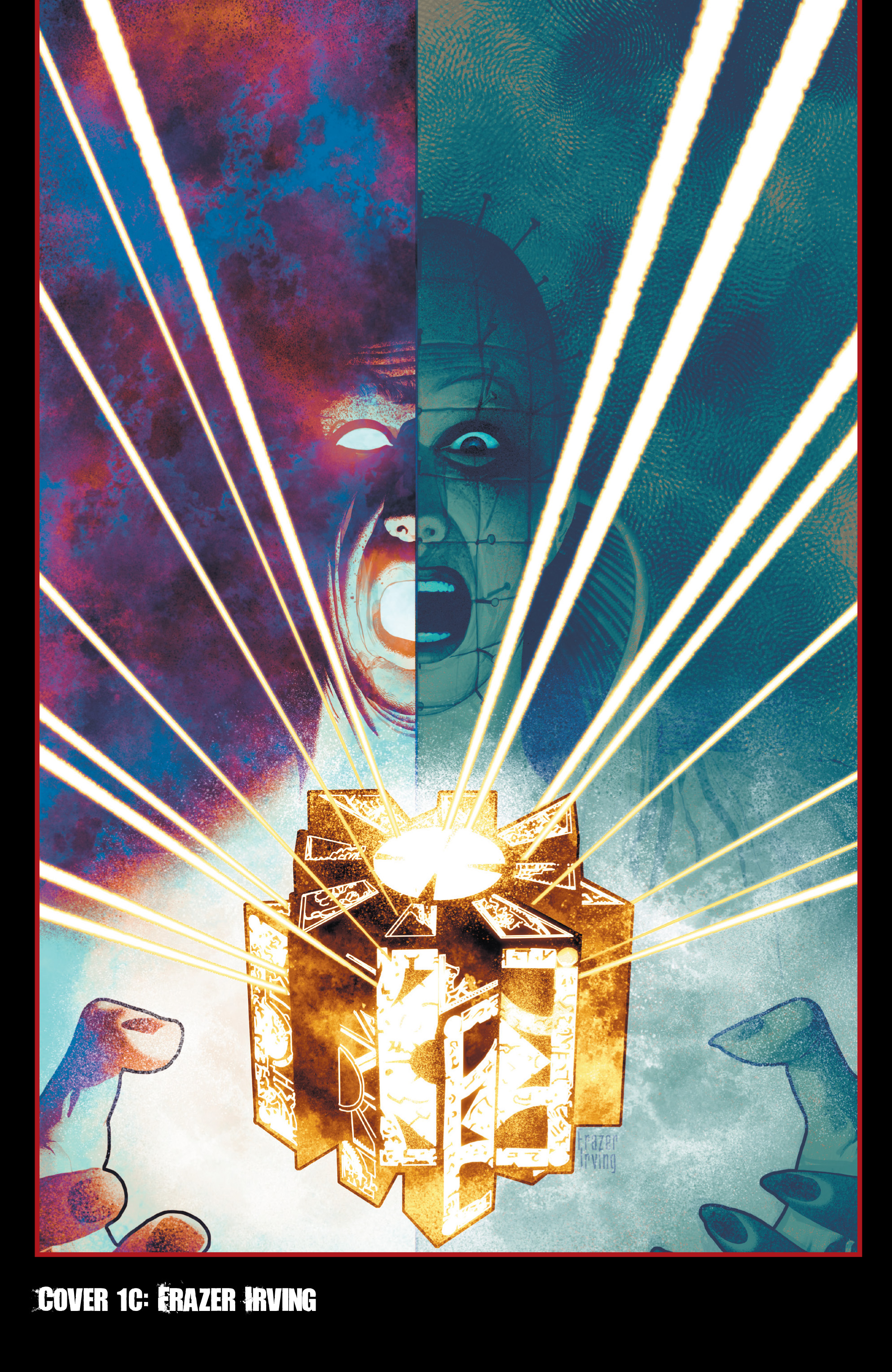 Read online Clive Barker's Hellraiser: The Dark Watch comic -  Issue # TPB 1 - 99