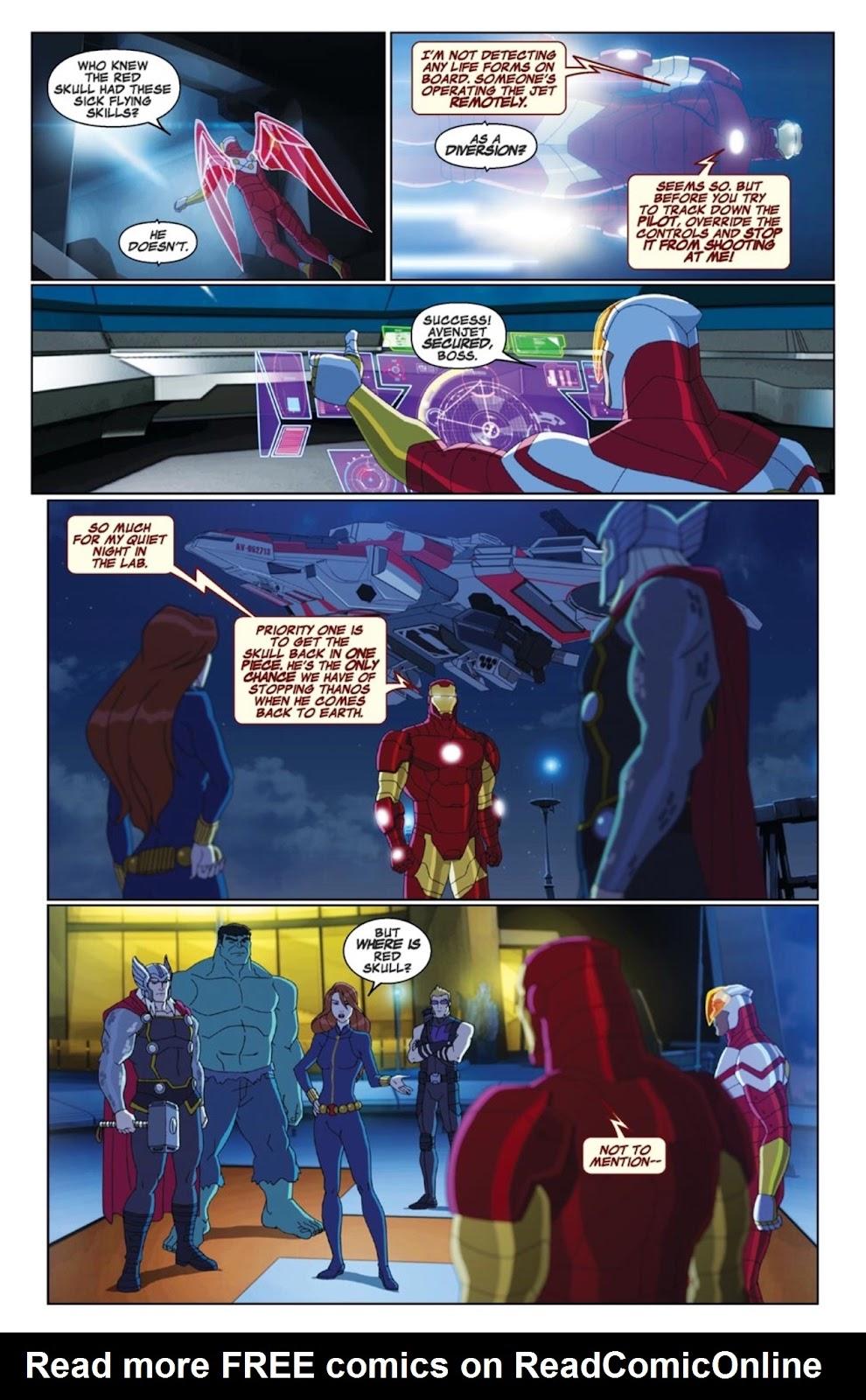 Read online Marvel Universe Avengers Assemble Season 2 comic -  Issue #4 - 10