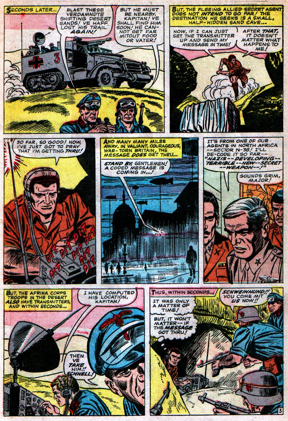 Read online Sgt. Fury comic -  Issue #16 - 5