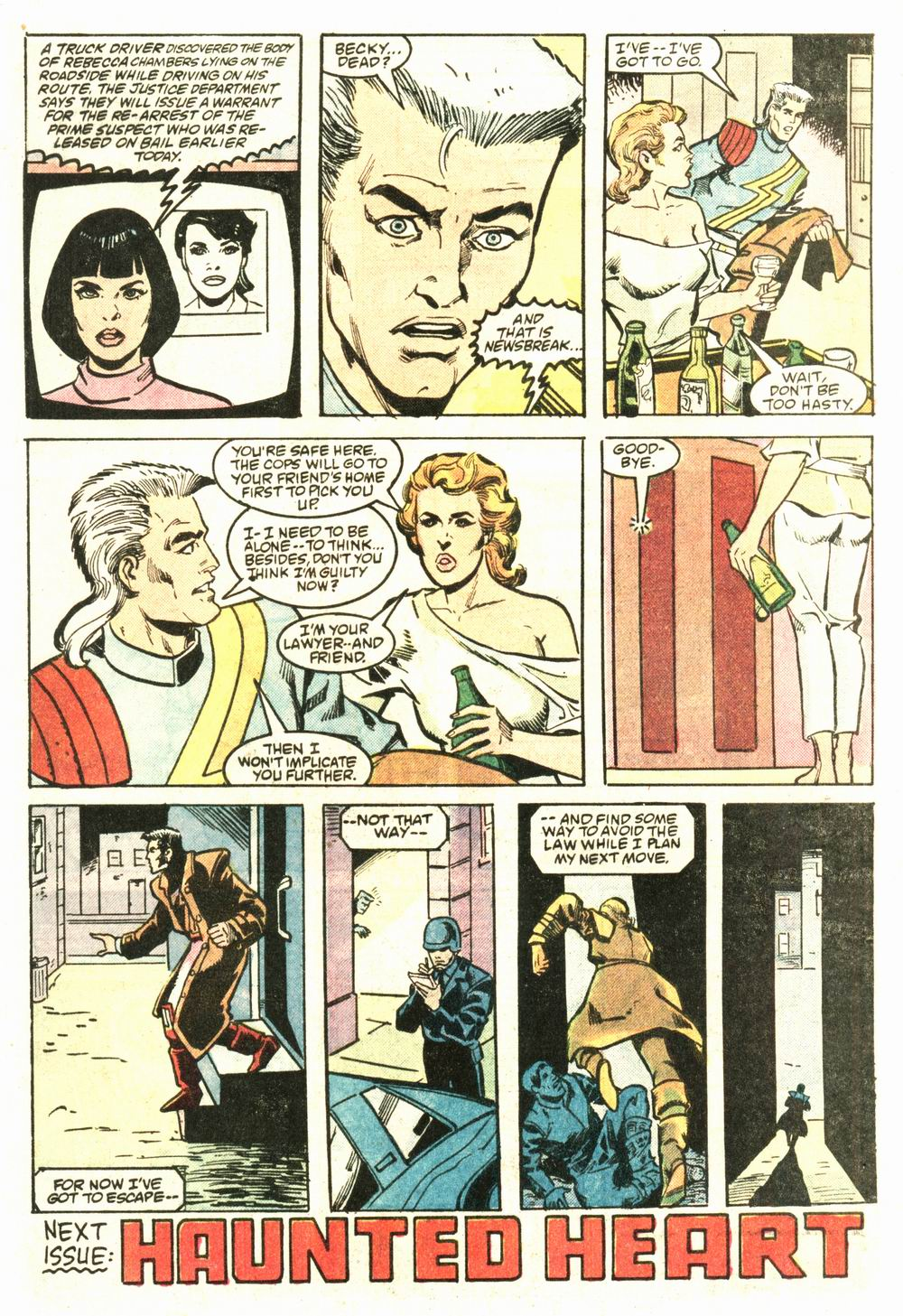 Read online Justice (1986) comic -  Issue #8 - 23