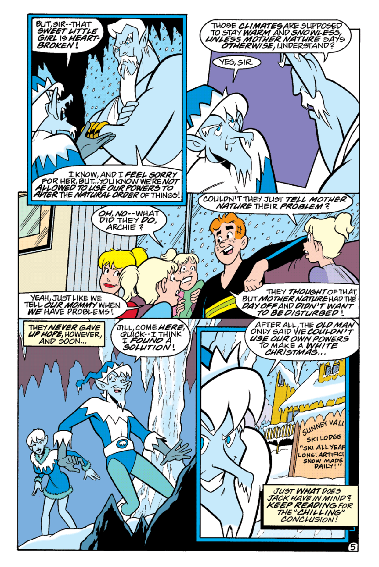 Read online Archie's Weird Mysteries comic -  Issue #18 - 19