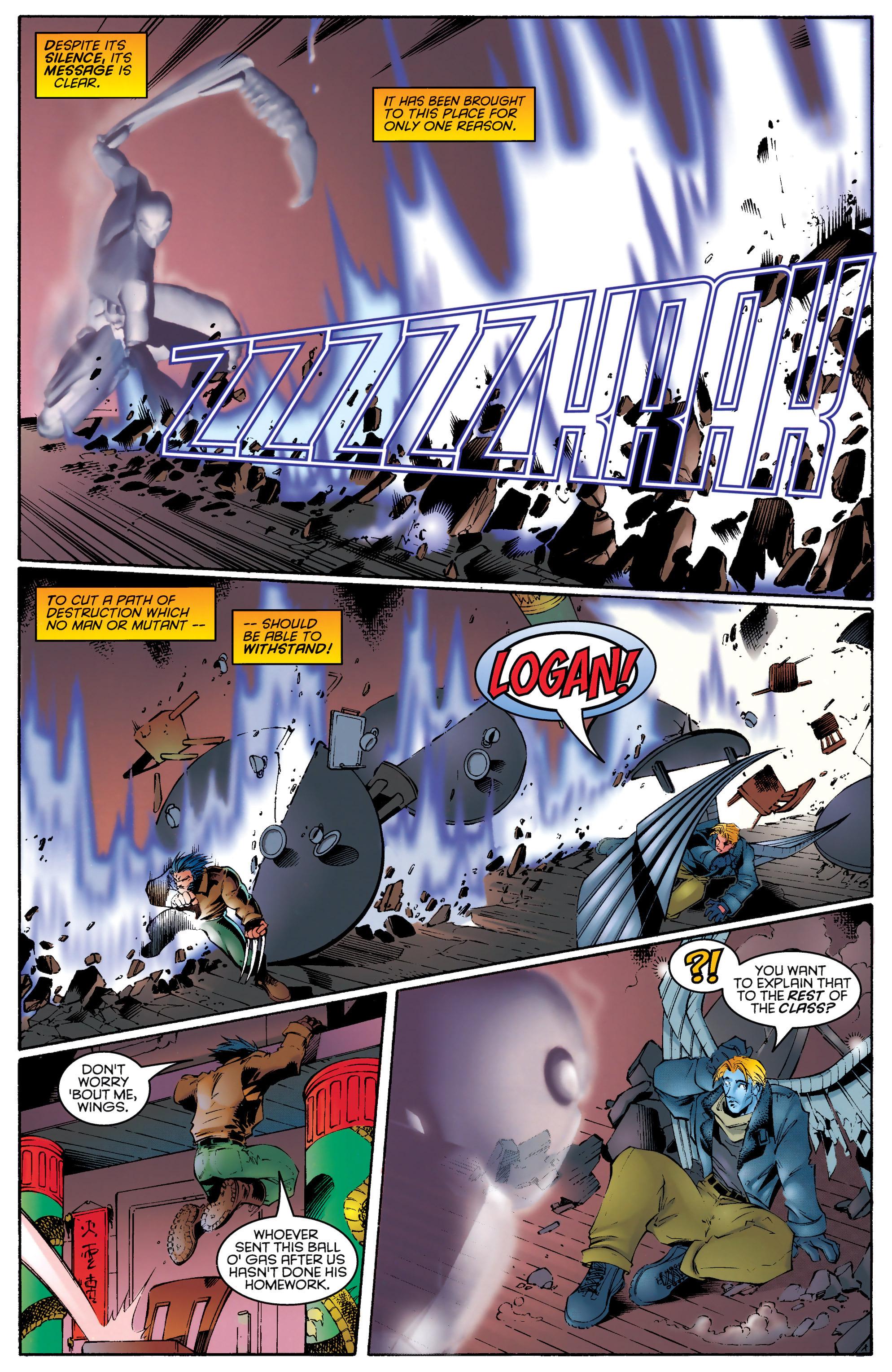 Read online Uncanny X-Men (1963) comic -  Issue #329 - 12