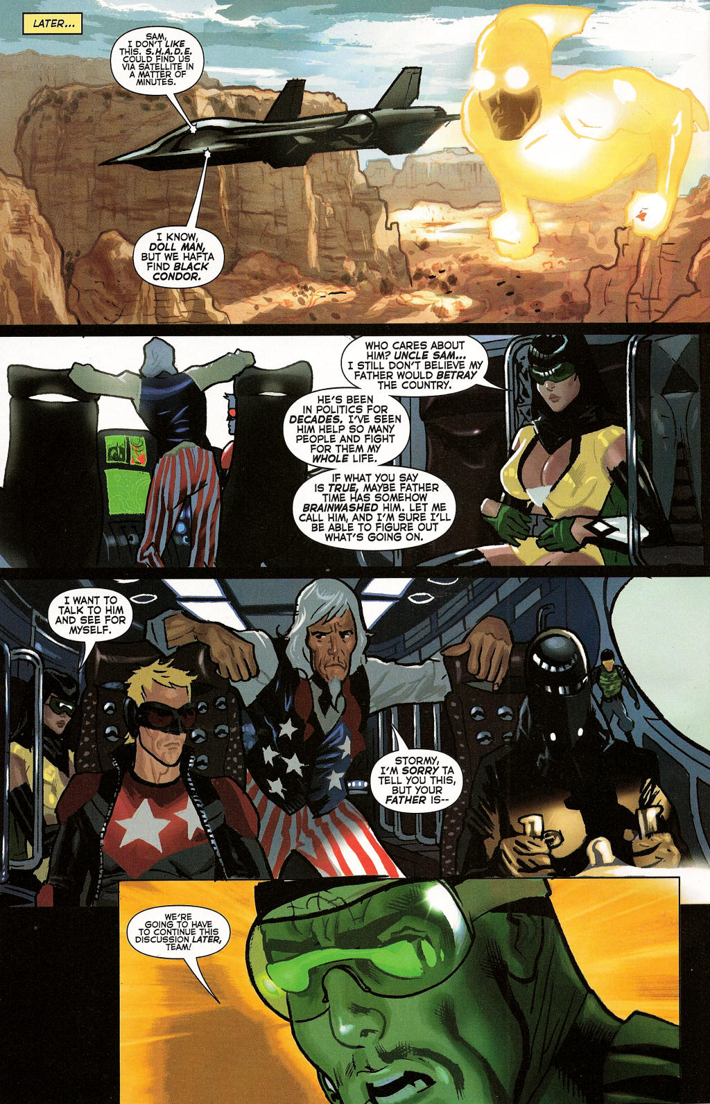 Read online Uncle Sam and the Freedom Fighters (2006) comic -  Issue #3 - 11