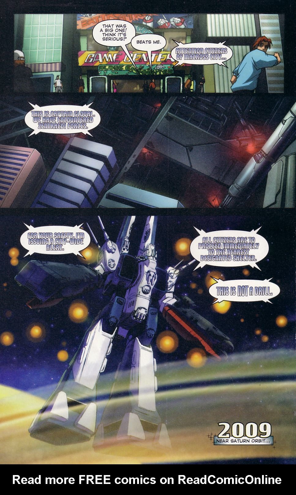 Read online Robotech: Love and War comic -  Issue #2 - 15