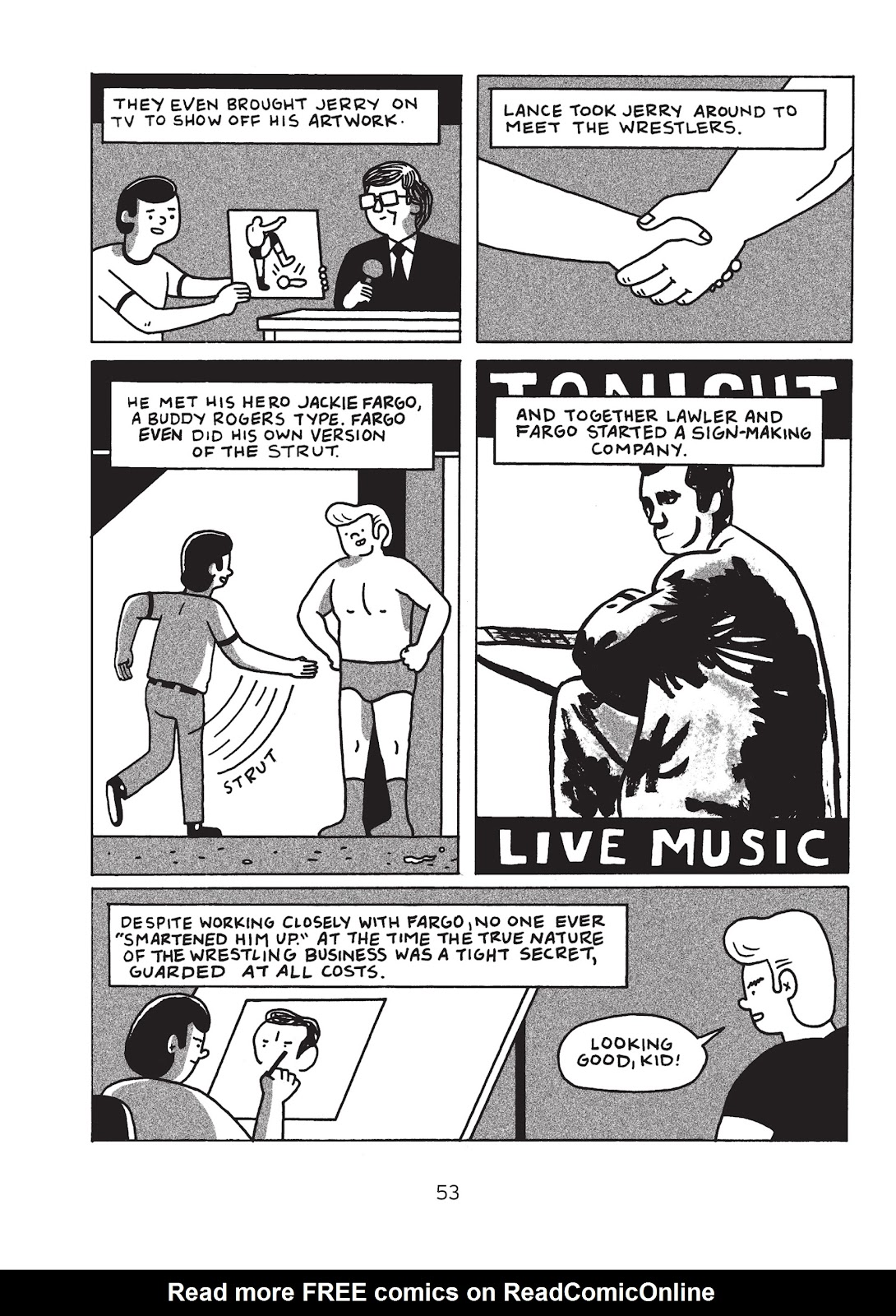 Read online Is This Guy For Real?: The Unbelievable Andy Kaufman comic -  Issue # TPB (Part 1) - 58
