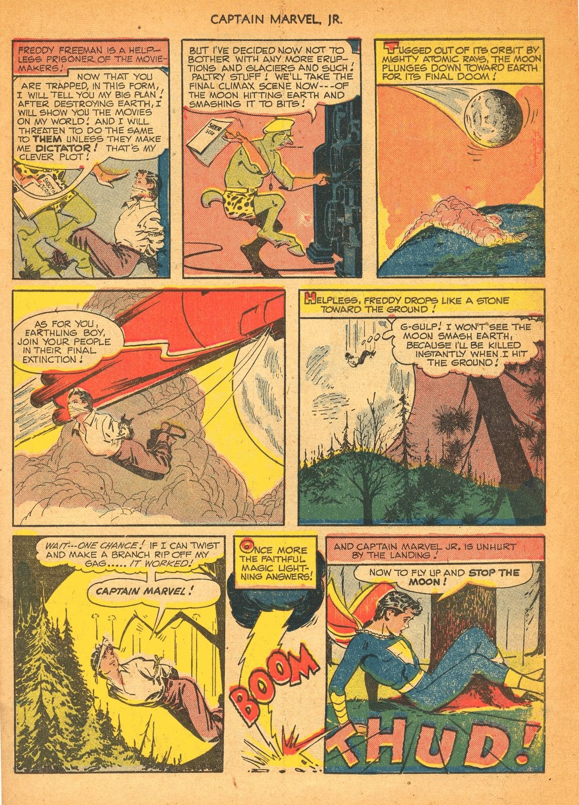 Captain Marvel, Jr. issue 84 - Page 10