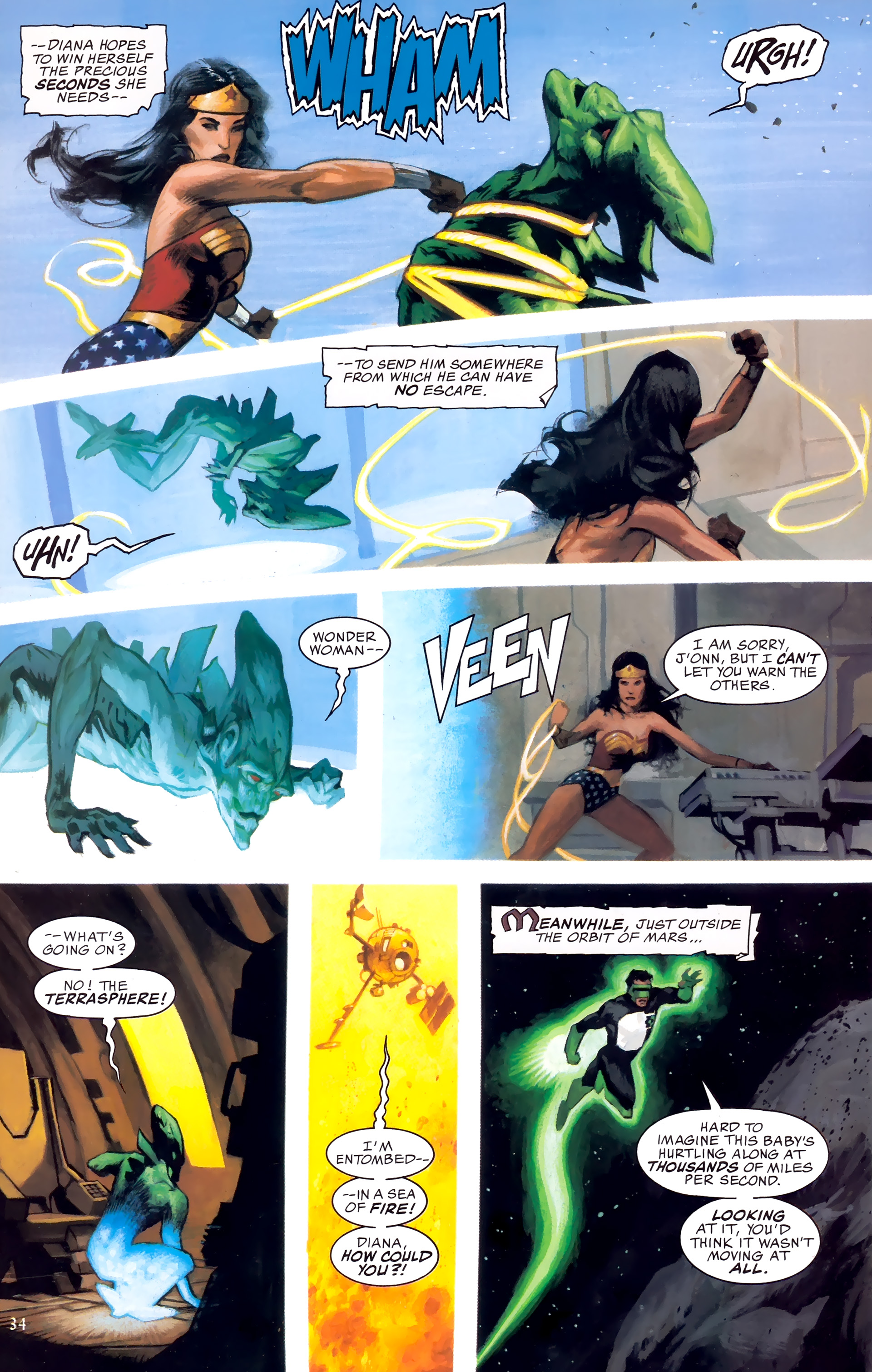 Read online JLA: A League of One comic -  Issue # Full - 41