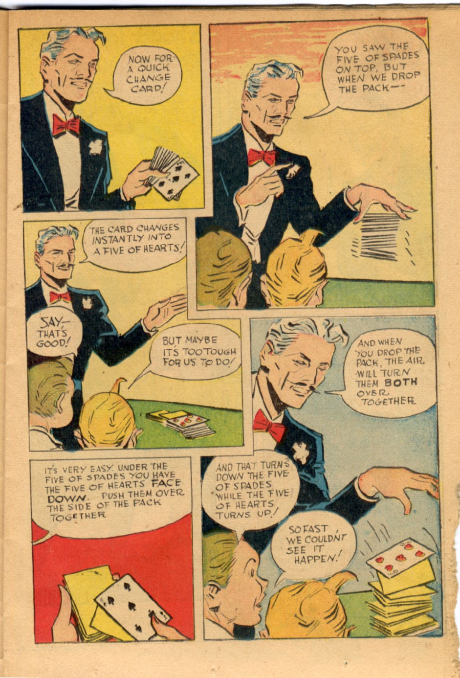 Read online Super-Magician Comics comic -  Issue #43 - 19