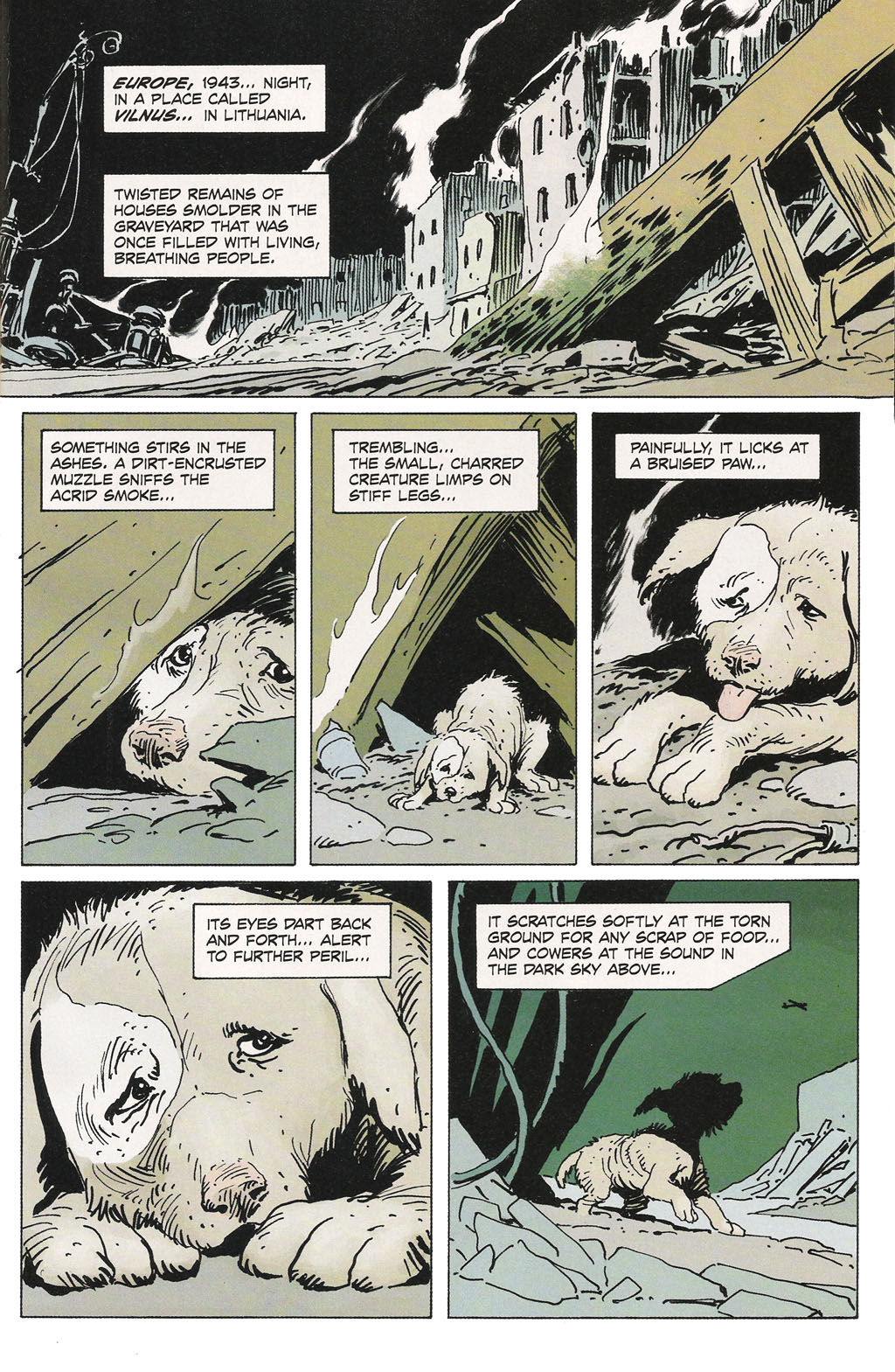 Read online Sgt. Rock: The Prophecy comic -  Issue #1 - 4
