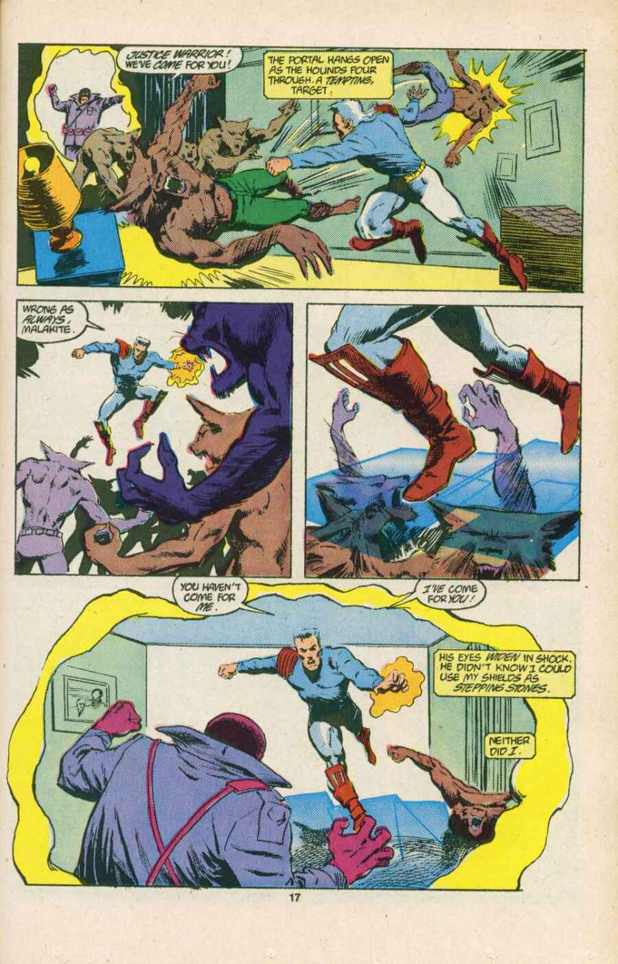 Read online Justice (1986) comic -  Issue #15 - 18