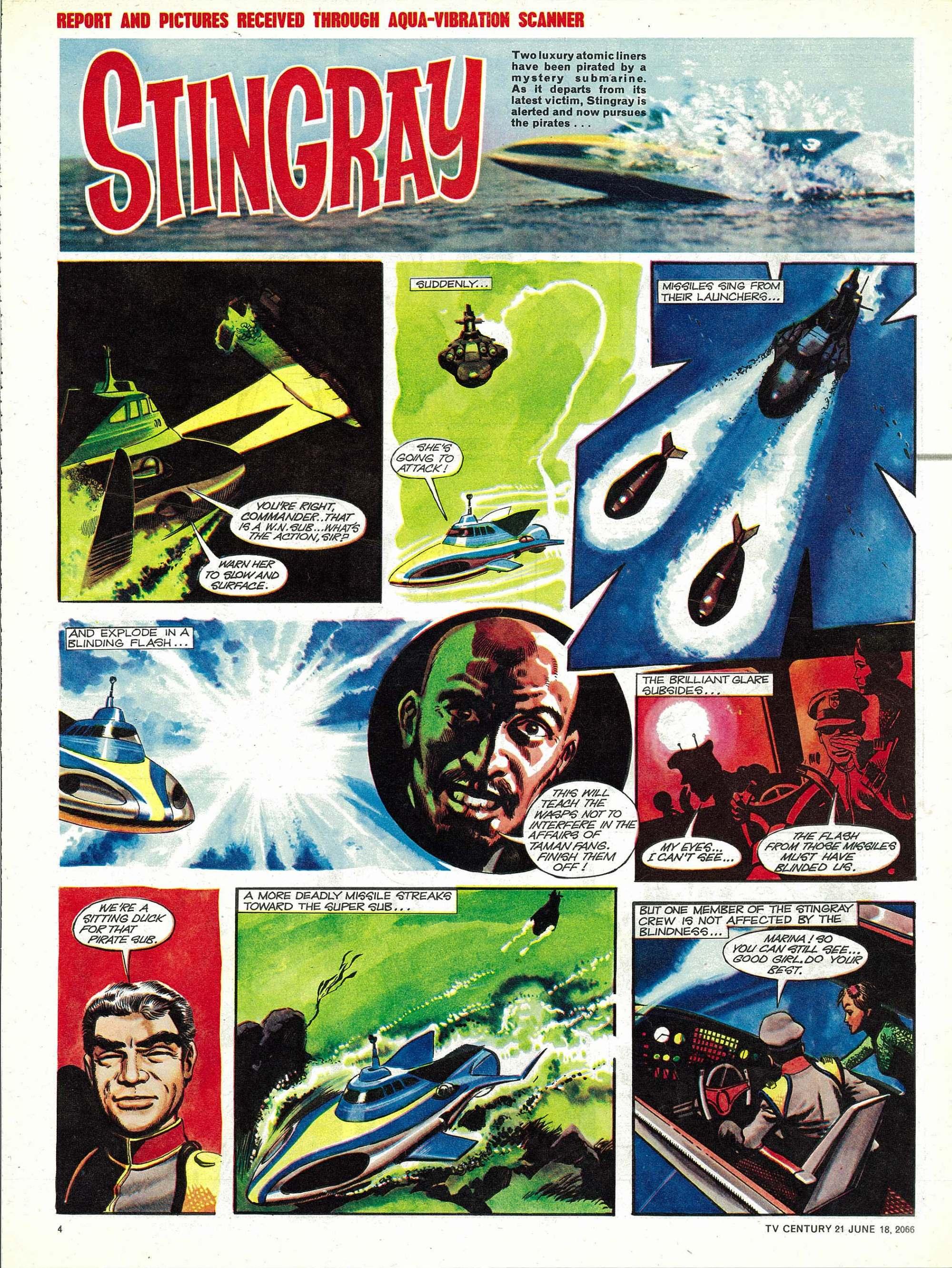 Read online TV Century 21 (TV 21) comic -  Issue #74 - 4