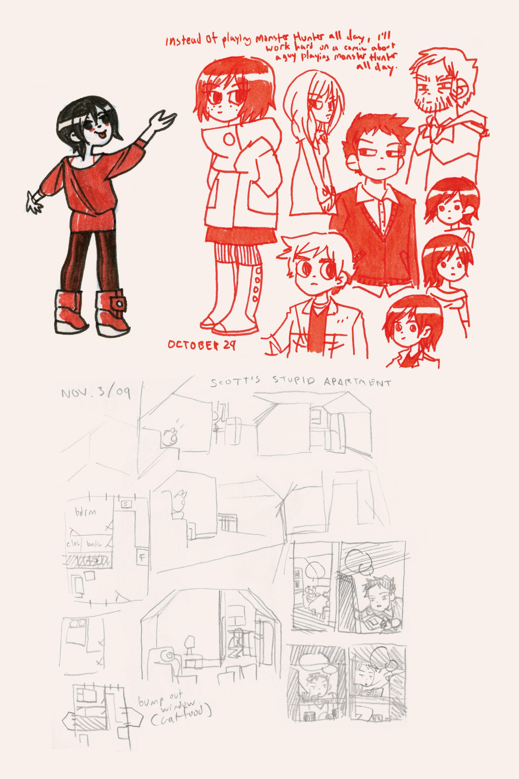 Read online Scott Pilgrim comic -  Issue #6 - 260