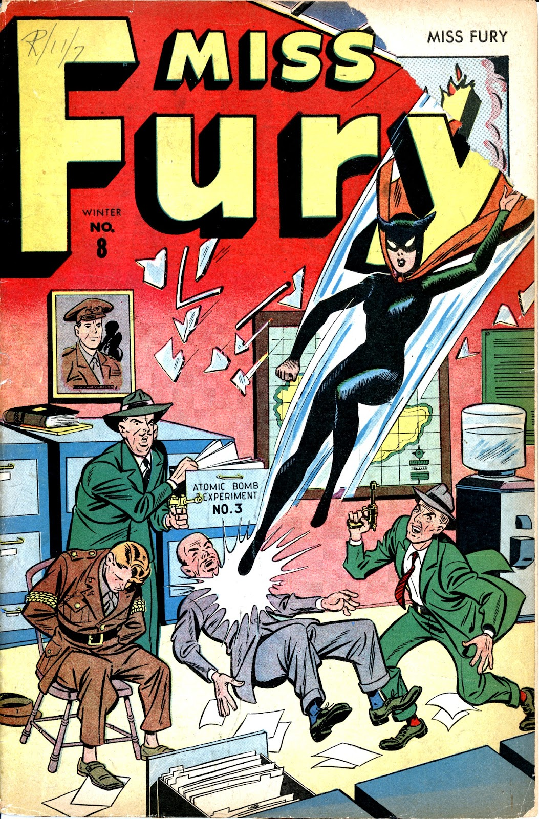 Miss Fury (1942) issue 8 - Page 1