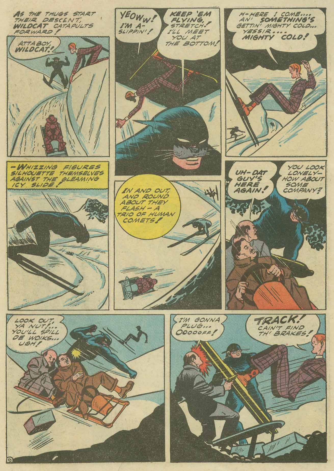 Read online Sensation (Mystery) Comics comic -  Issue #9 - 64