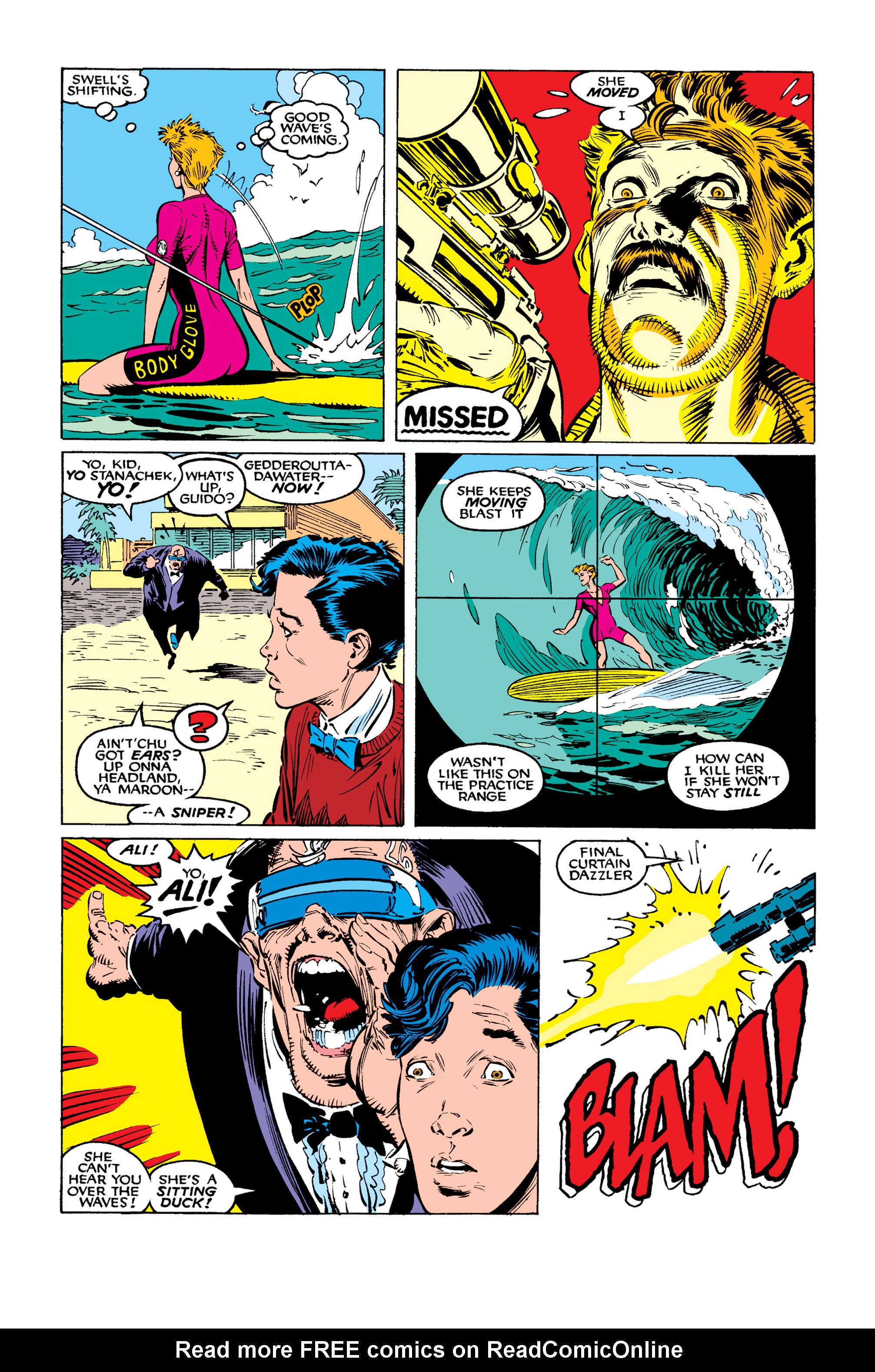 Read online Uncanny X-Men (1963) comic -  Issue #260 - 7