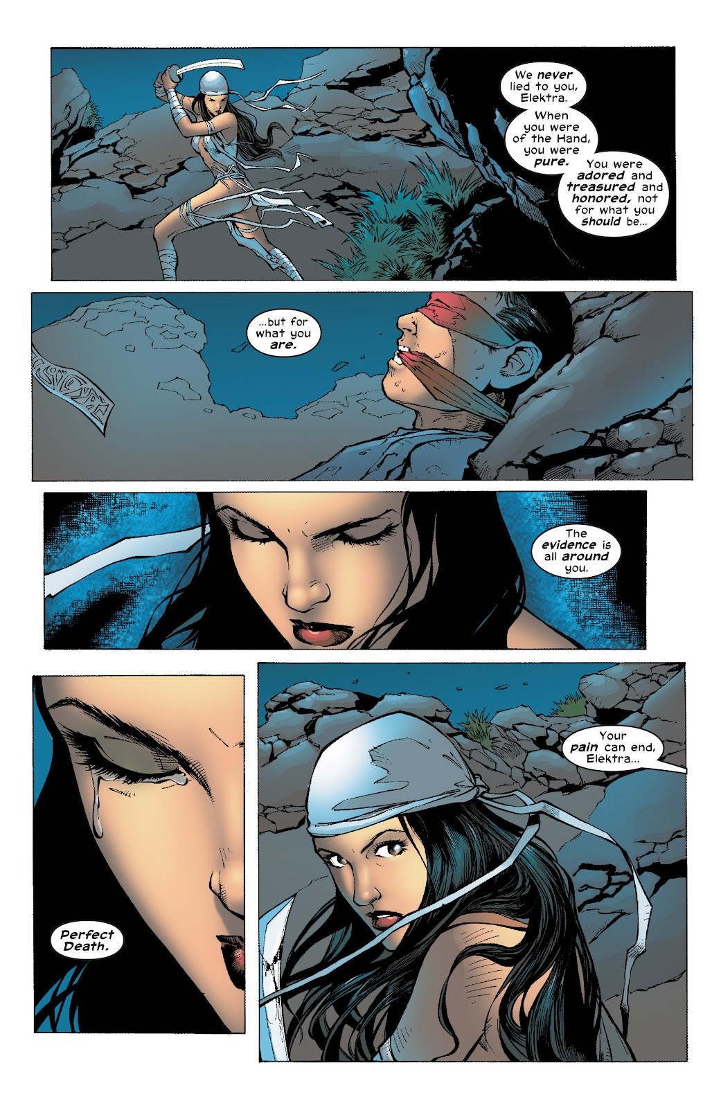 Read online Elektra (2001) comic -  Issue # _TPB Elektra by Greg Rucka Ultimate Collection (Part 4) - 73