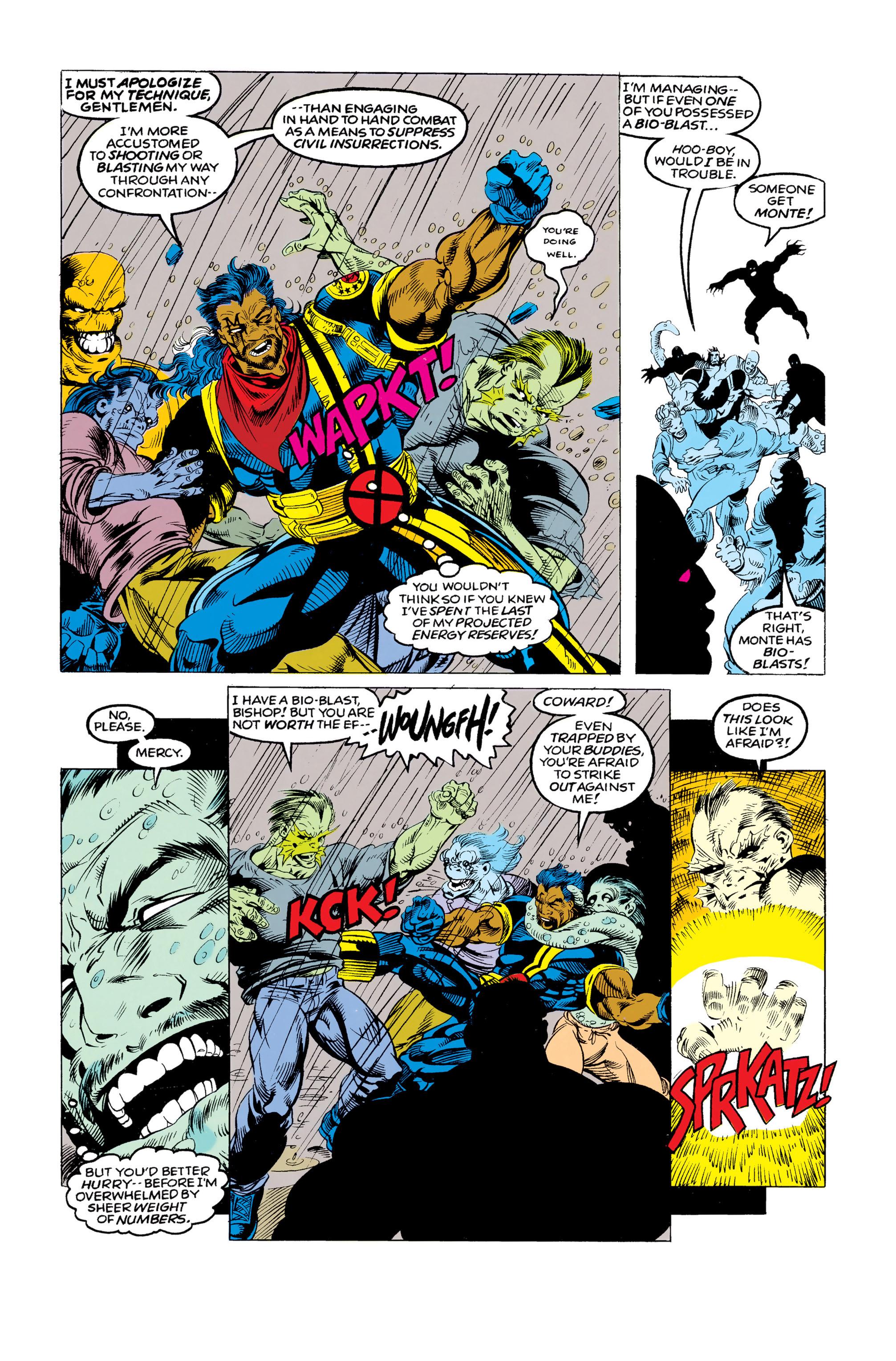 Read online Uncanny X-Men (1963) comic -  Issue #292 - 11