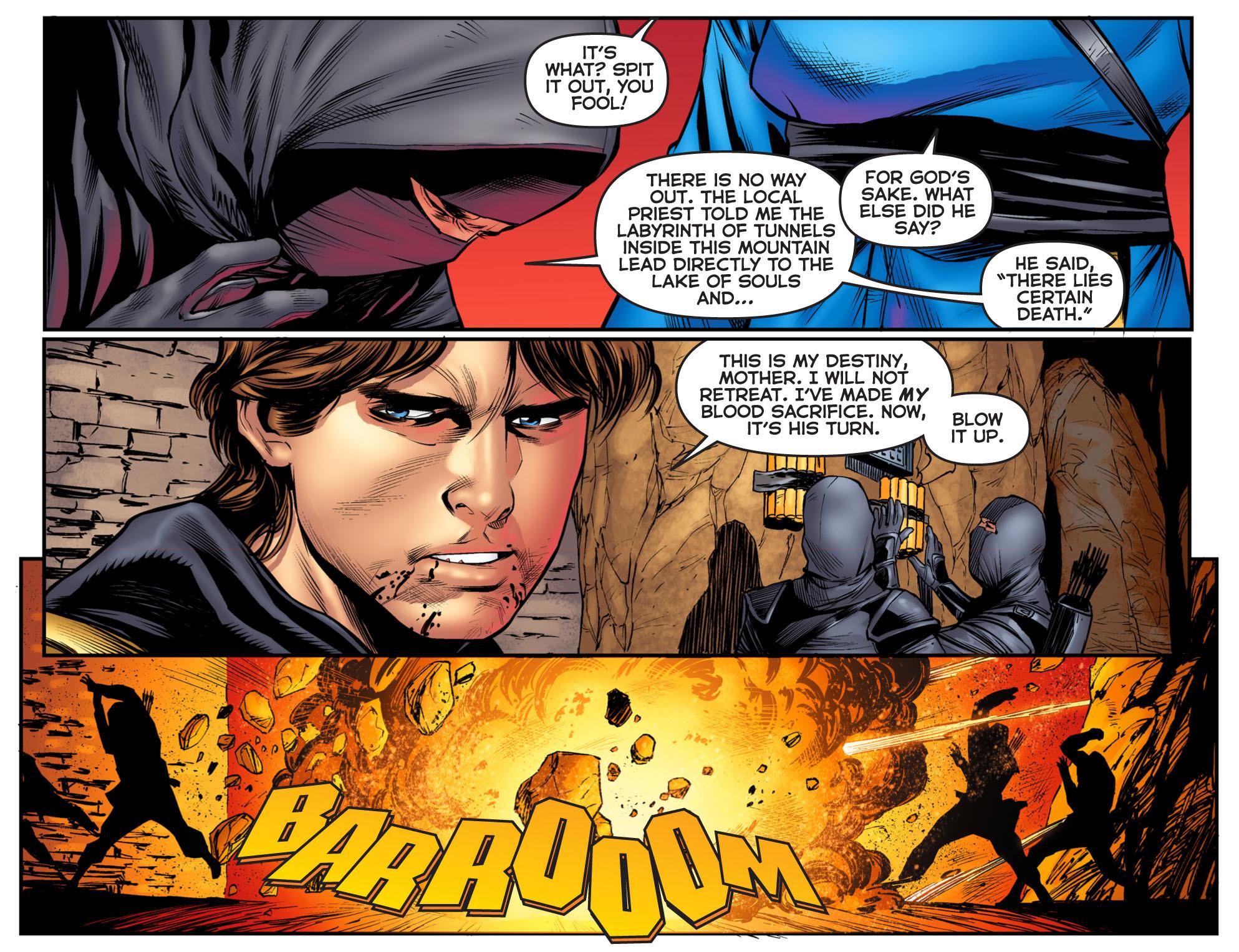 Read online Arrow: The Dark Archer comic -  Issue #3 - 8