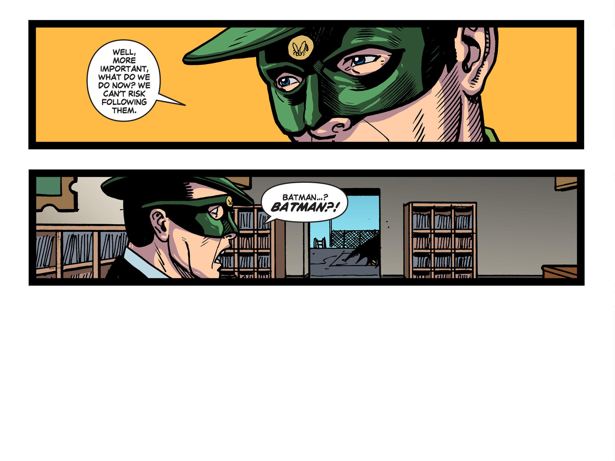 Read online Batman '66 Meets the Green Hornet [II] comic -  Issue #5 - 27