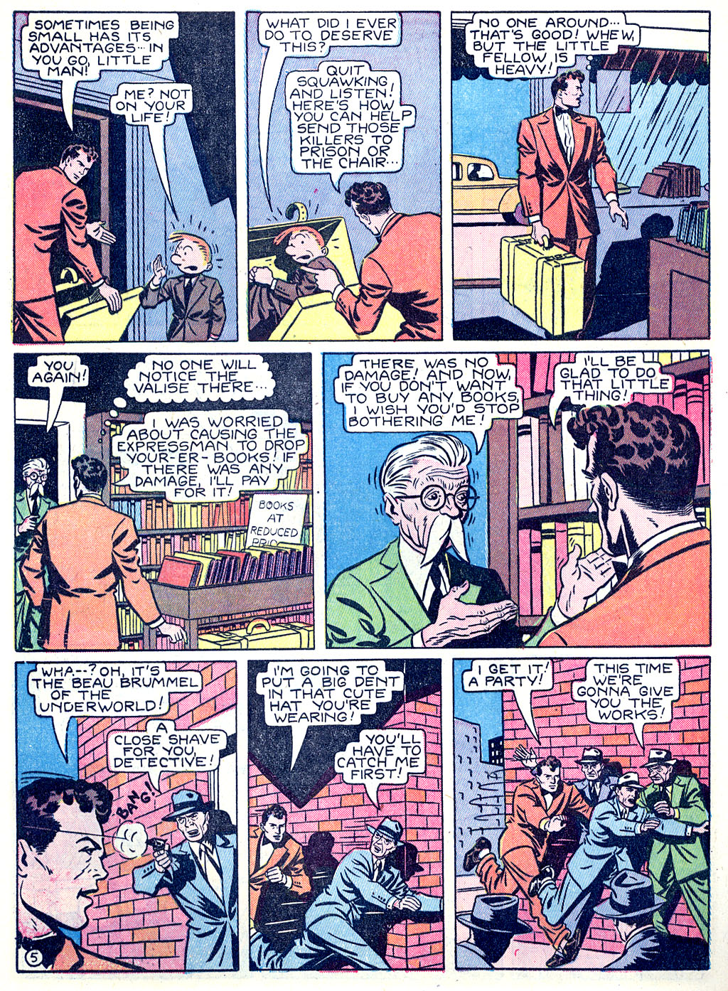 Read online Detective Comics (1937) comic -  Issue #68 - 62