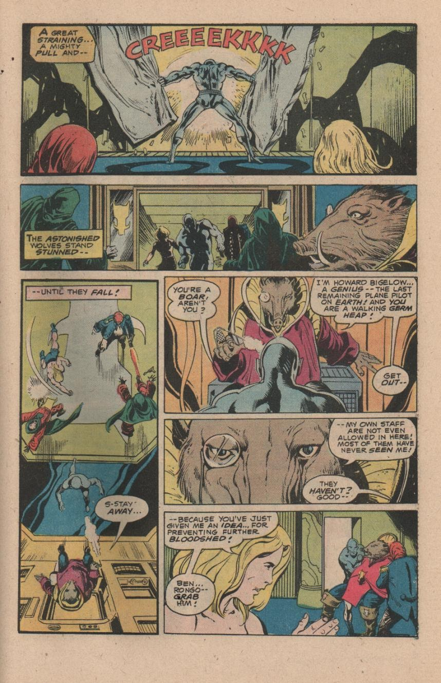 Kamandi, The Last Boy On Earth issue 47 - Page 27