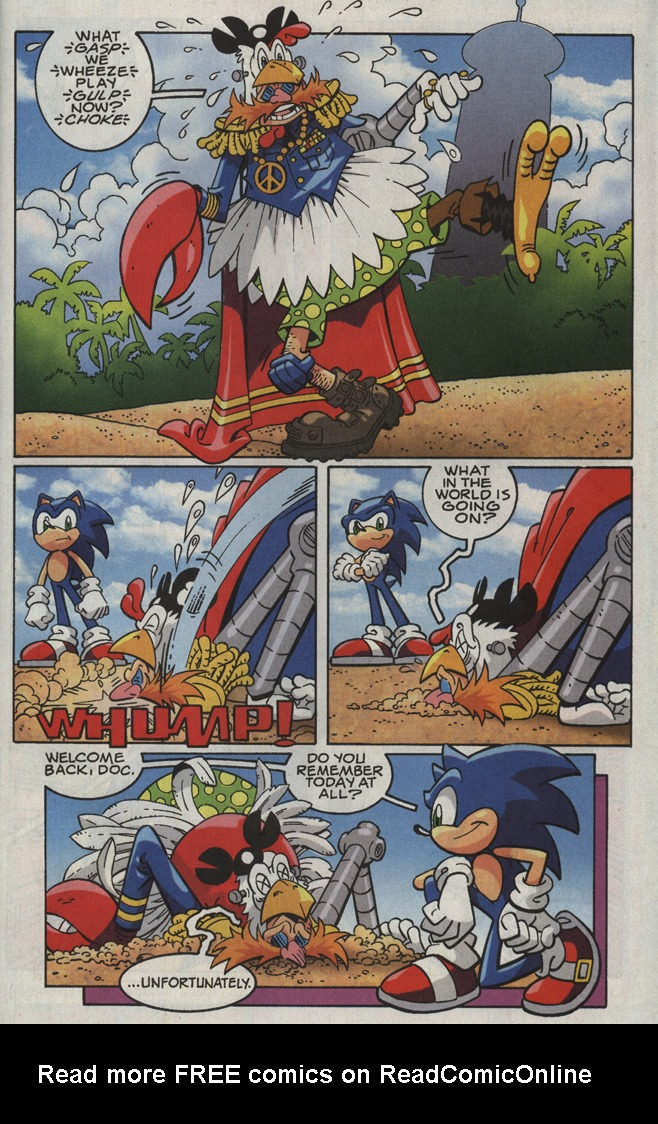 Read online Sonic X comic -  Issue #35 - 27