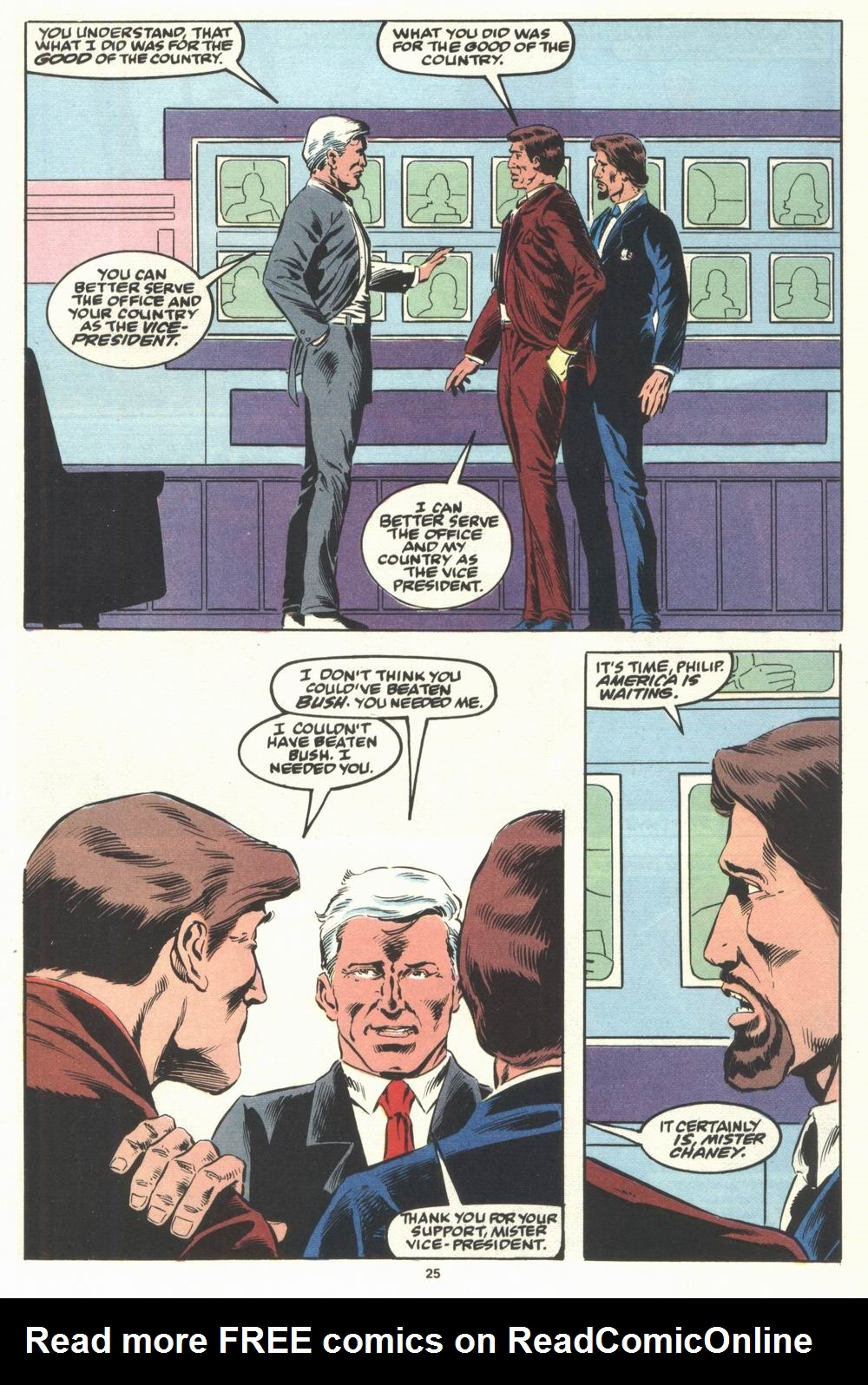 Read online Justice (1986) comic -  Issue #29 - 26