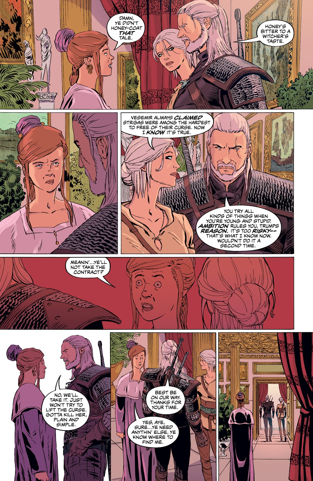 Read online The Witcher Omnibus comic -  Issue # TPB (Part 4) - 54