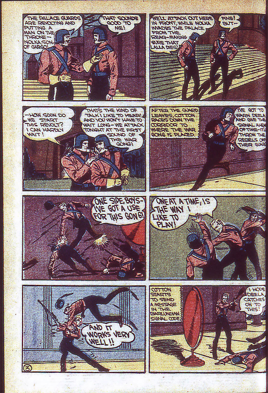 Read online Adventure Comics (1938) comic -  Issue #59 - 35