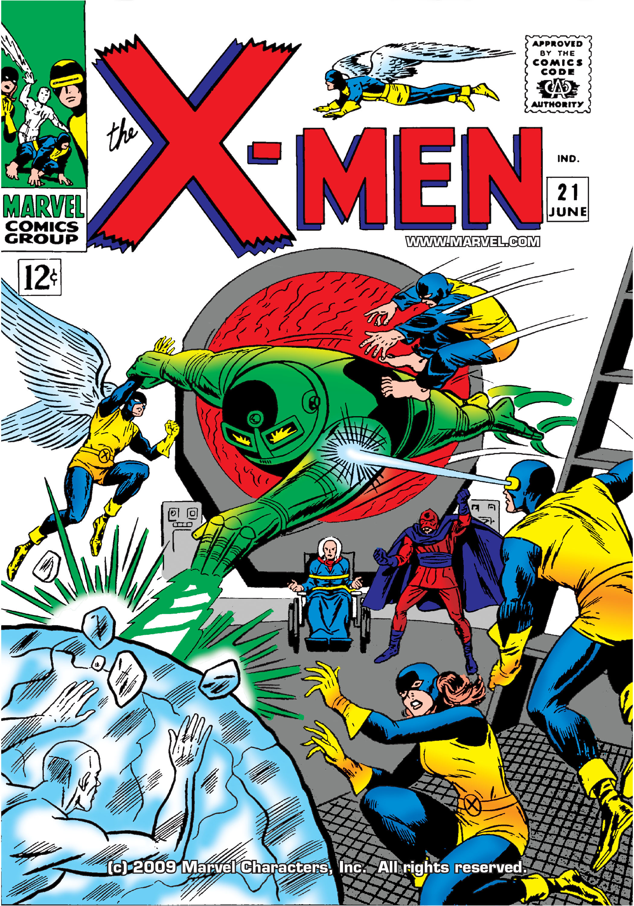 Read online Uncanny X-Men (1963) comic -  Issue #21 - 1