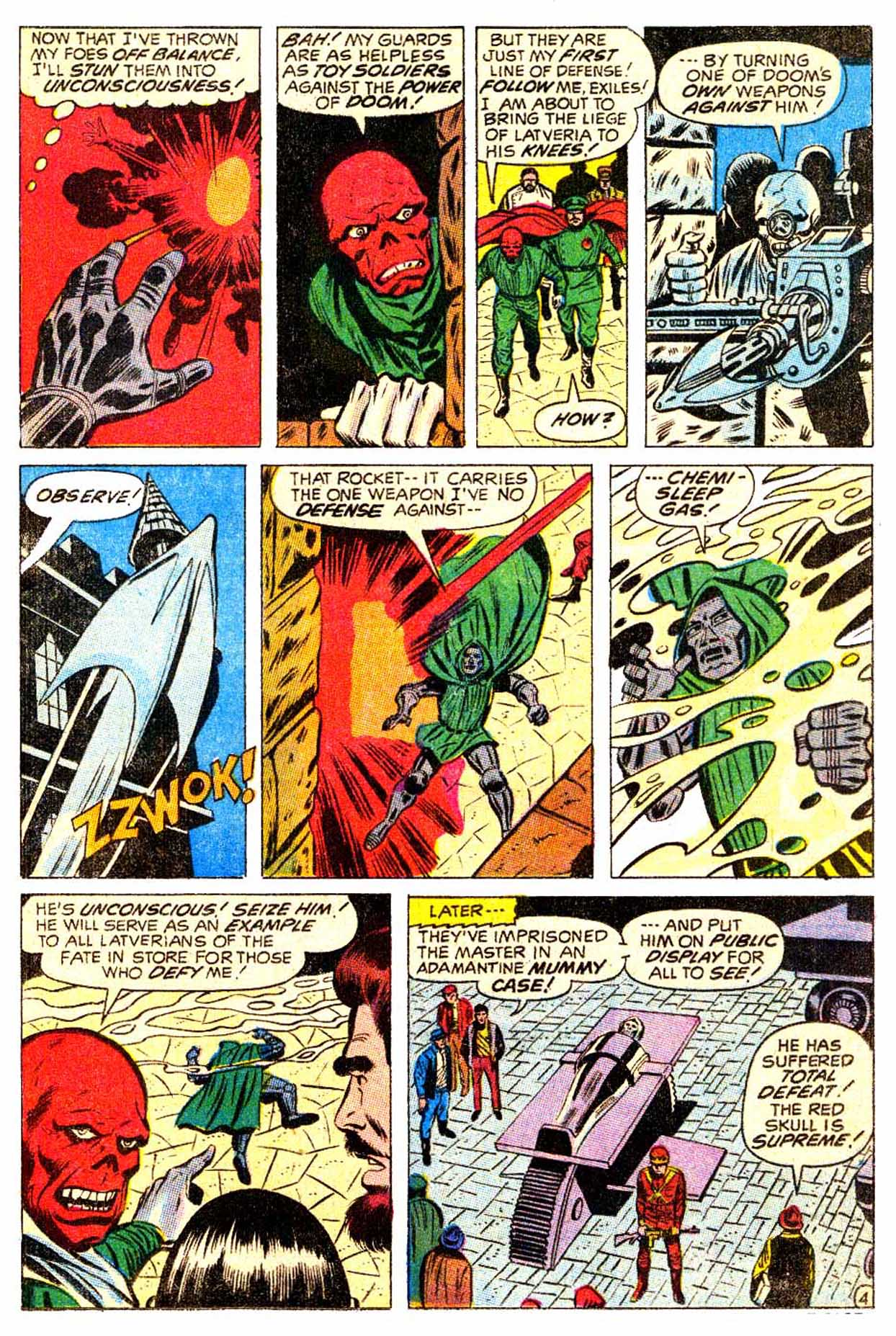 Read online Astonishing Tales (1970) comic -  Issue #5 - 5