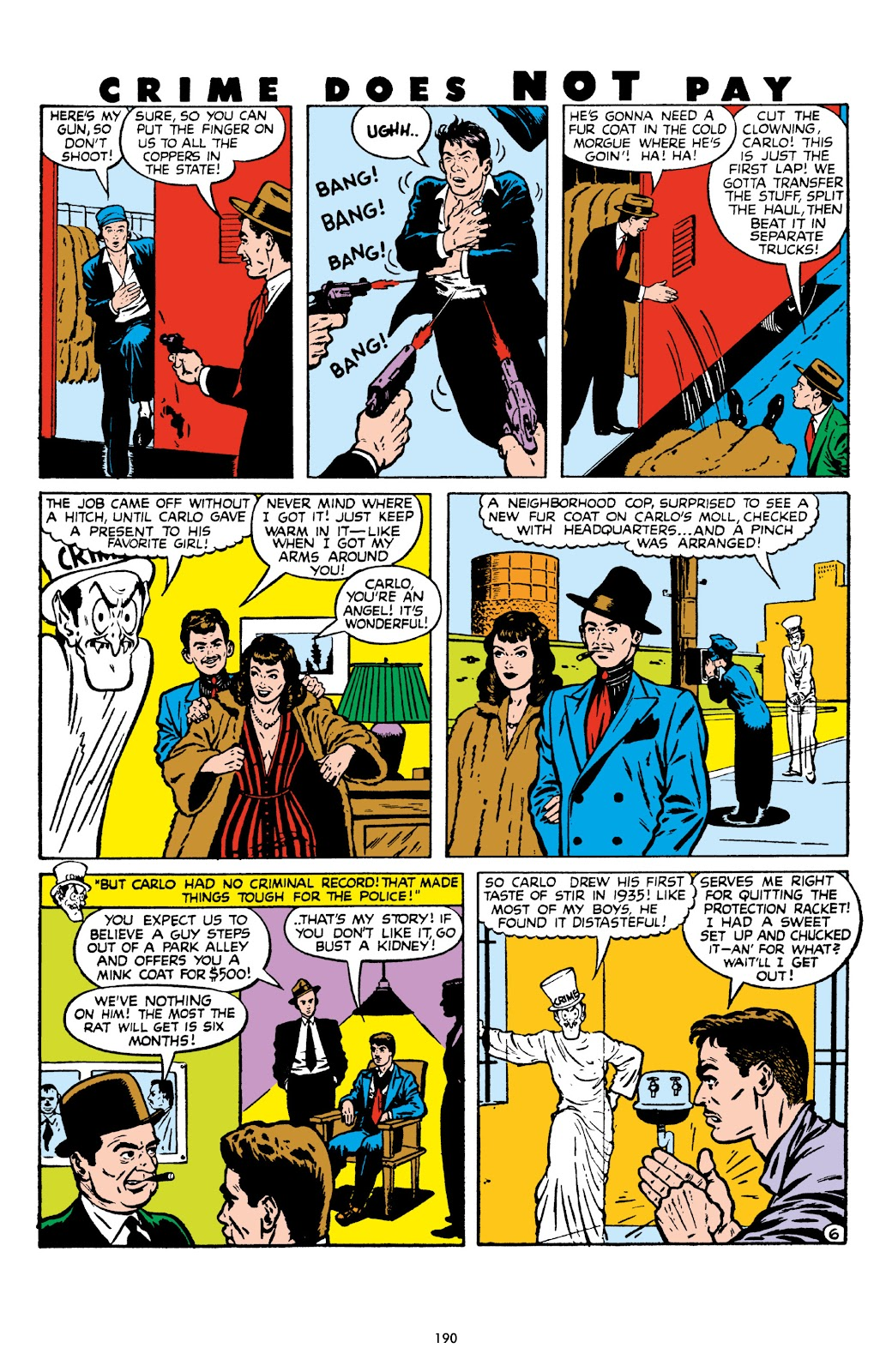 Read online Crime Does Not Pay Archives comic -  Issue # TPB 8 (Part 2) - 91