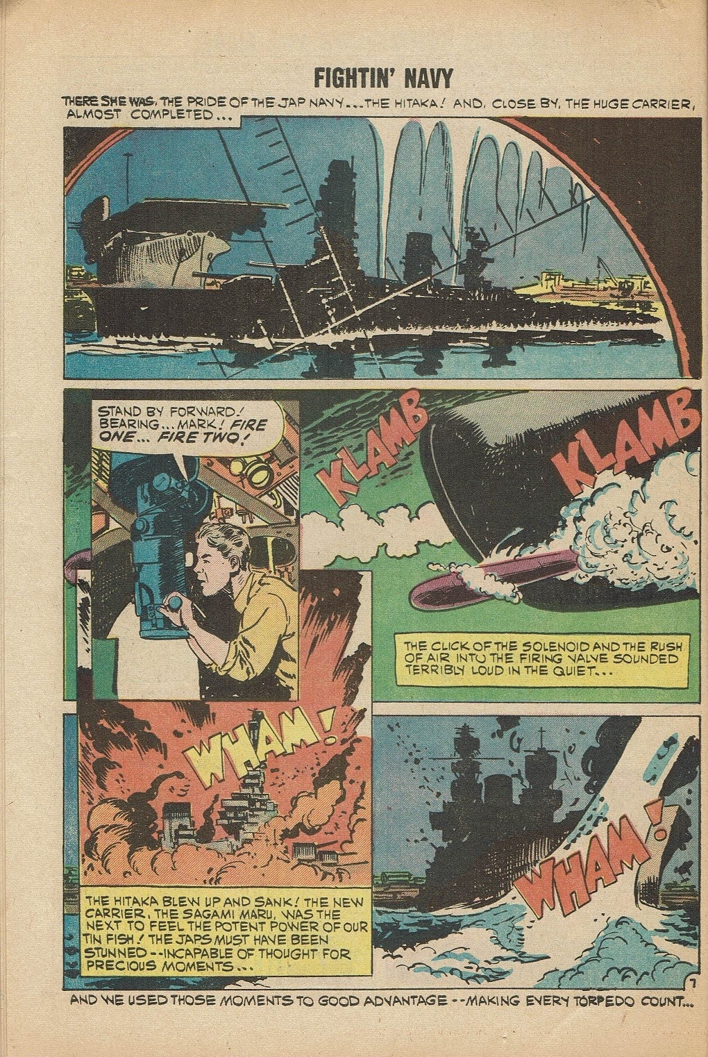 Read online Fightin' Navy comic -  Issue #91 - 10