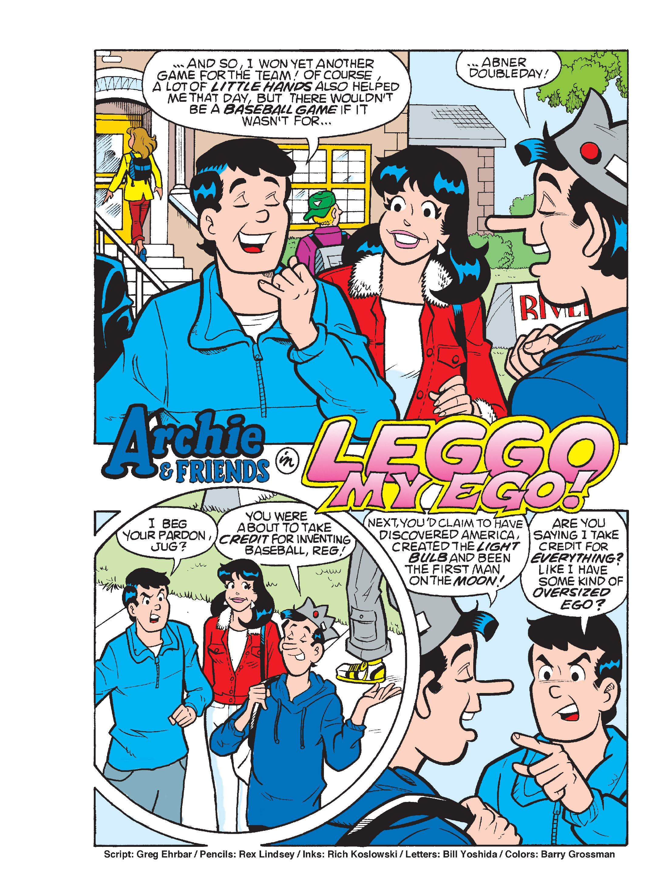 Read online Archie's Funhouse Double Digest comic -  Issue #17 - 146