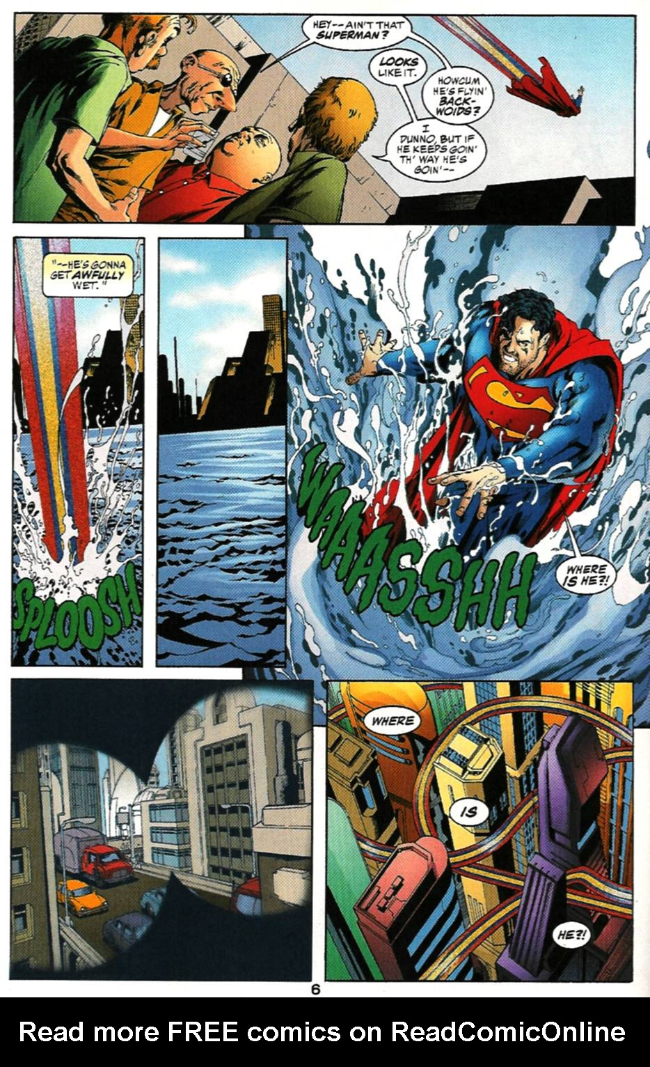 Read online Adventures of Superman (1987) comic -  Issue #579 - 7