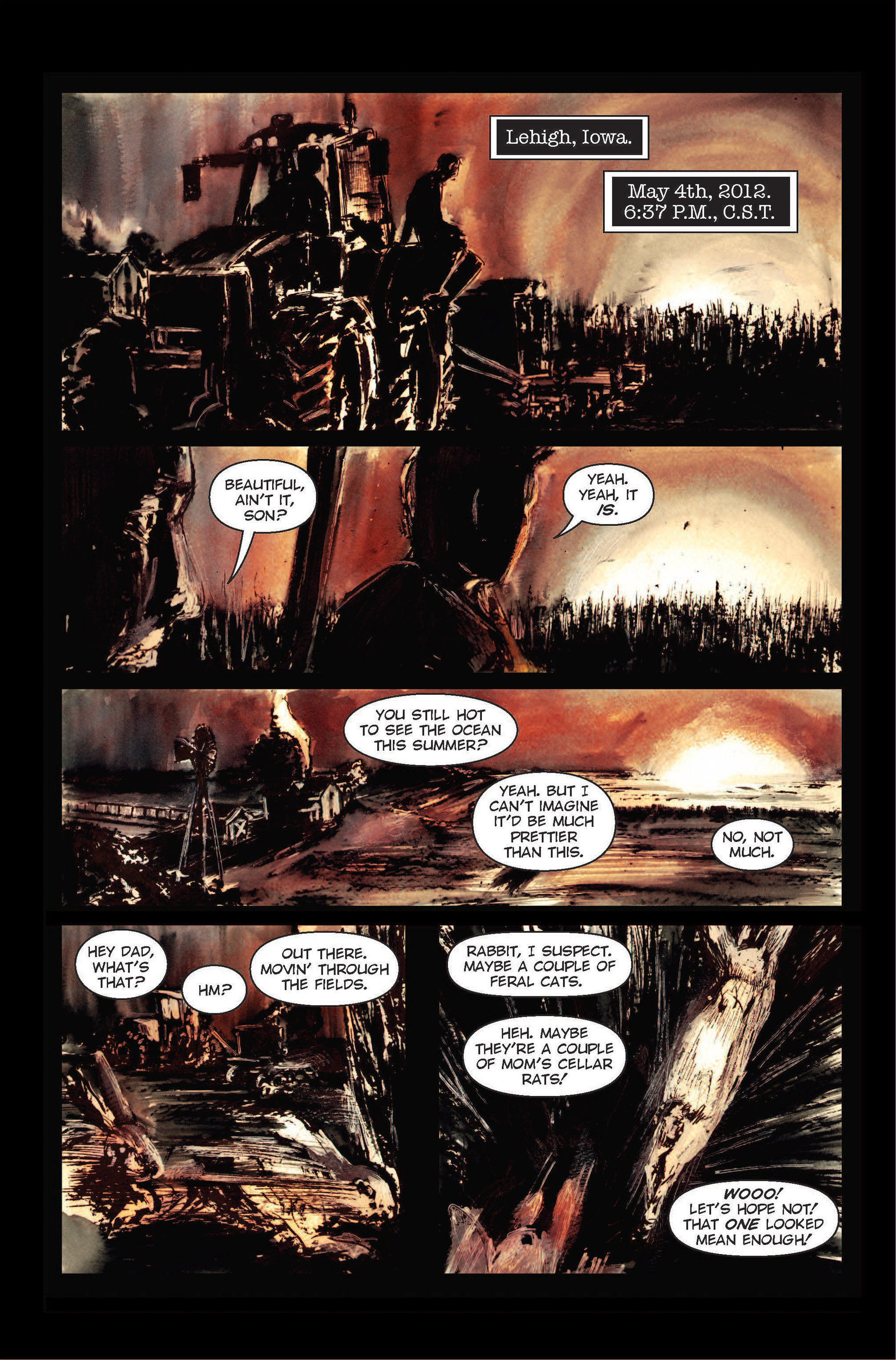 Read online The Final Plague comic -  Issue #1 - 15