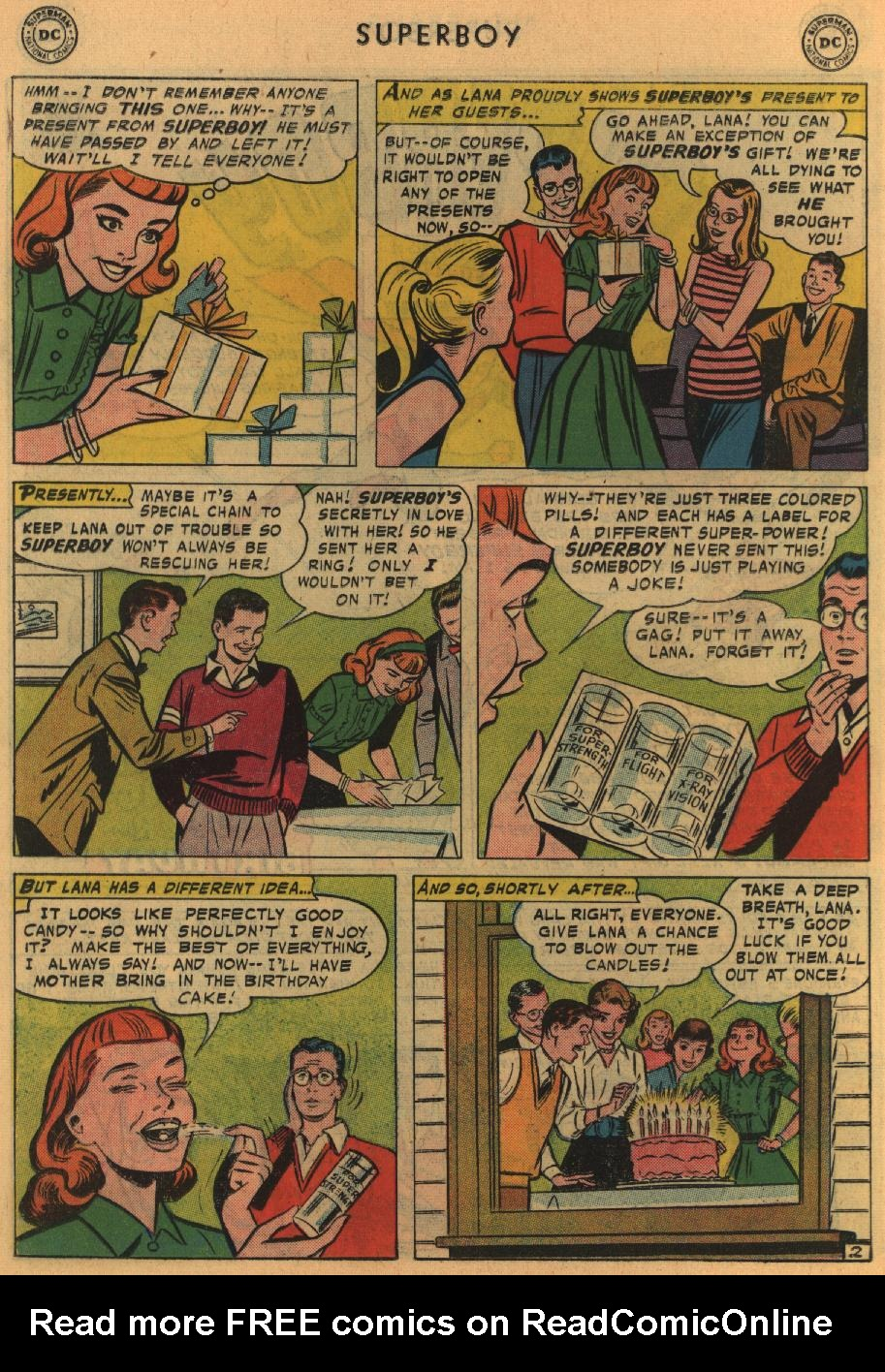 Superboy (1949) issue 64 - Page 12