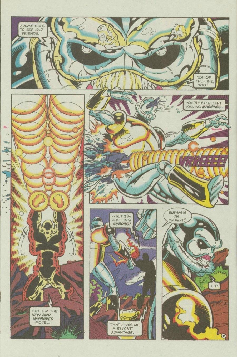 Read online Ex-Mutants comic -  Issue #6 - 24