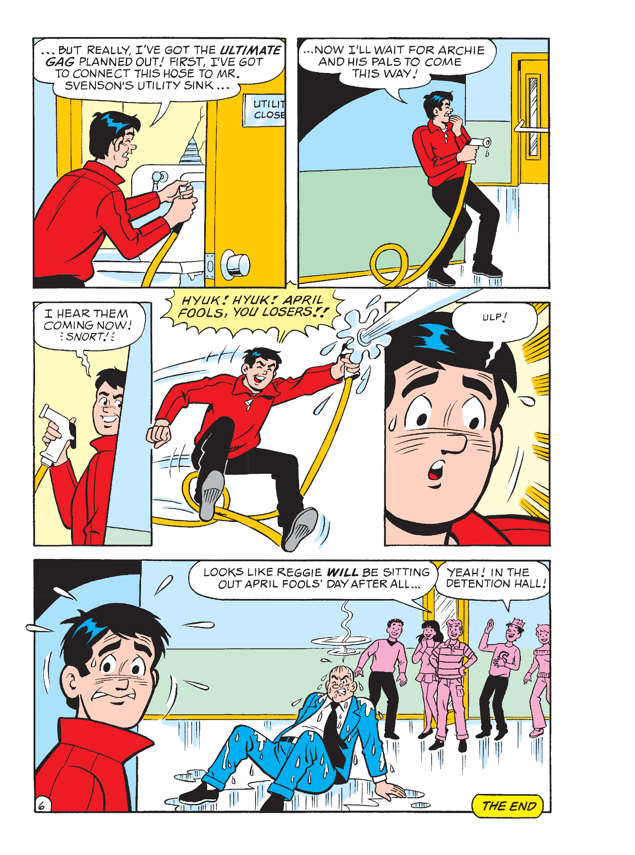 Read online Archie's Funhouse Double Digest comic -  Issue #13 - 119