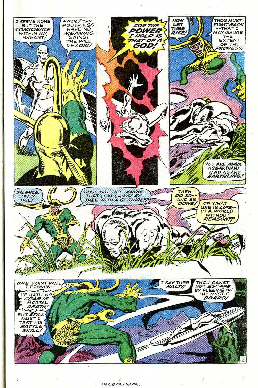Read online Silver Surfer (1968) comic -  Issue #4 - 15