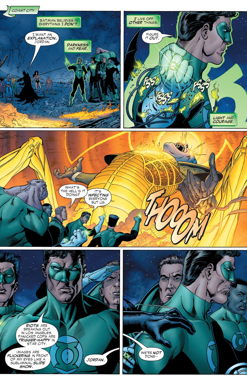 Read online Green Lantern by Geoff Johns comic -  Issue # TPB 1 (Part 2) - 35