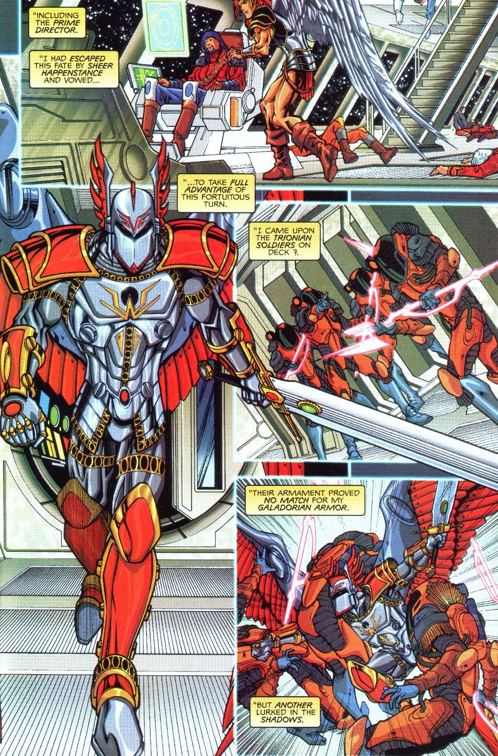 Read online Spaceknights (2000) comic -  Issue #1 - 15