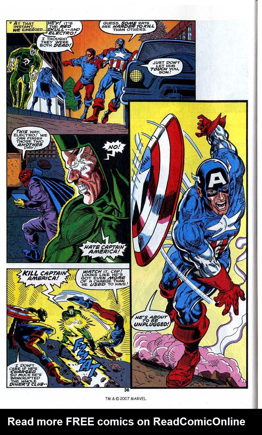 Read online Captain America (1968) comic -  Issue # _Annual 13 - 38