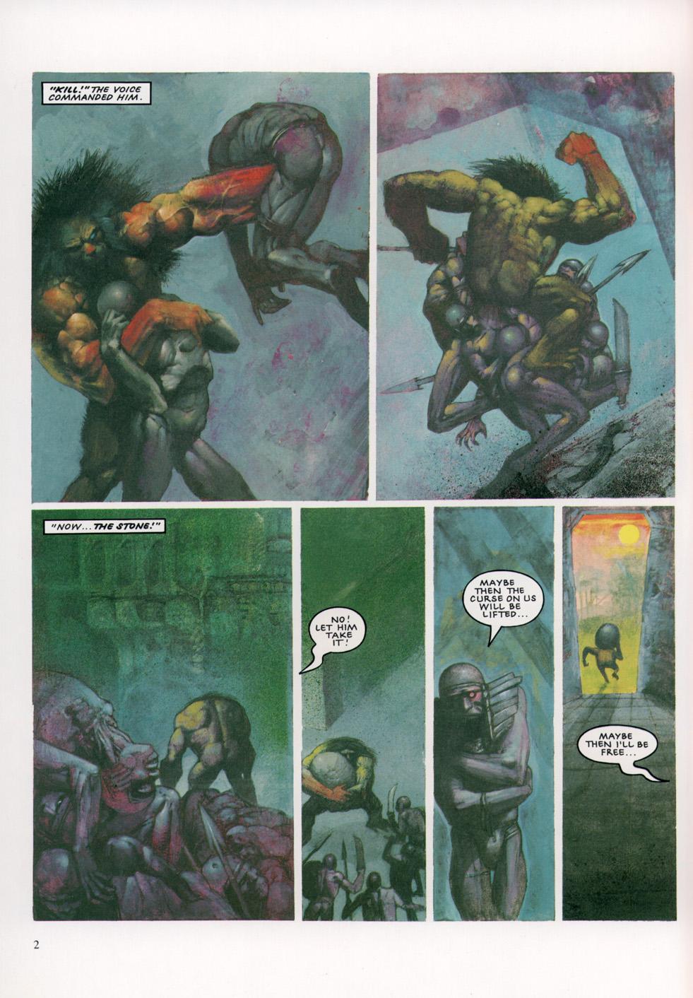 Read online Slaine: The Horned God (1993) comic -  Issue #4 - 3