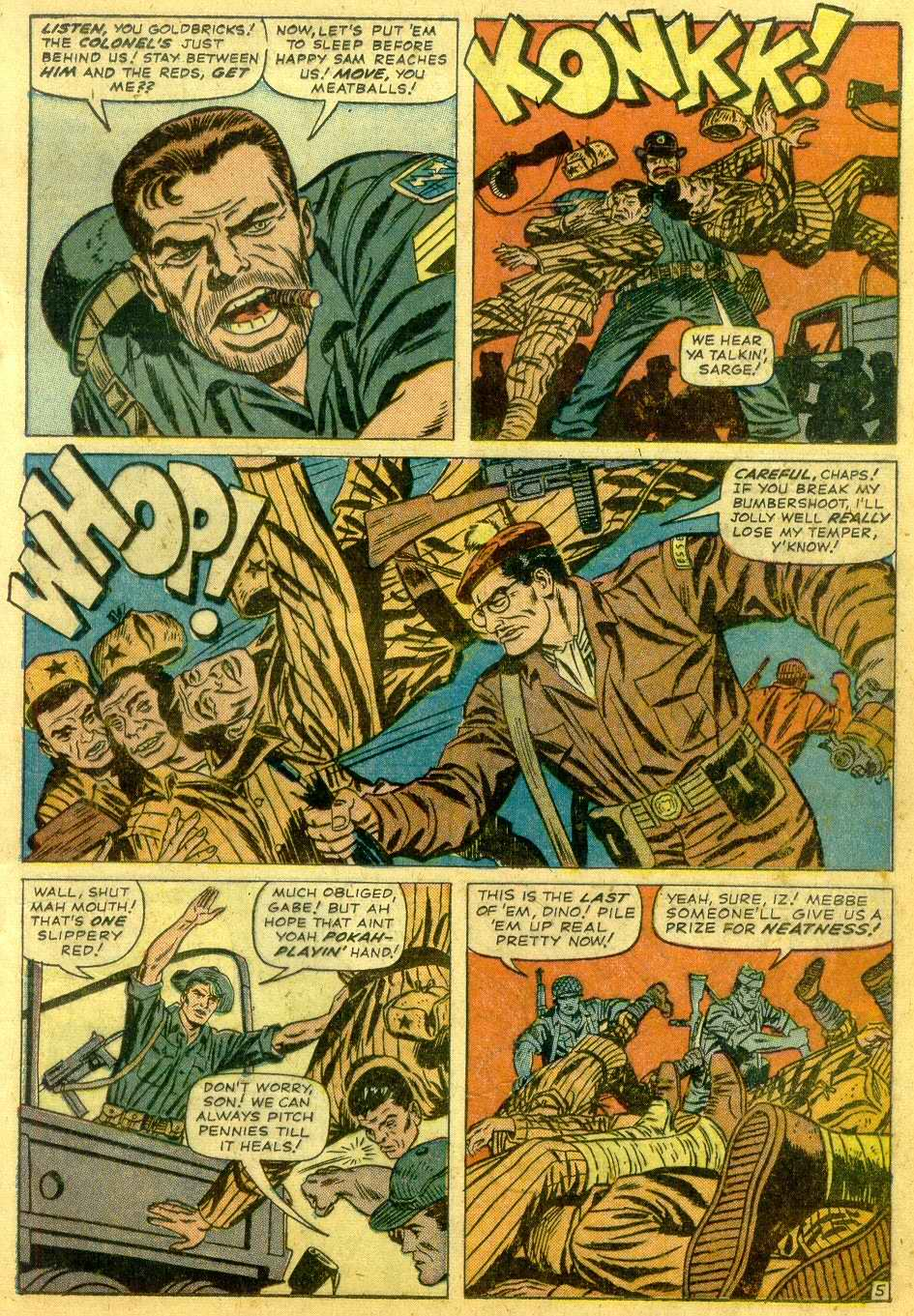 Read online Sgt. Fury comic -  Issue # _Annual 1 - 7